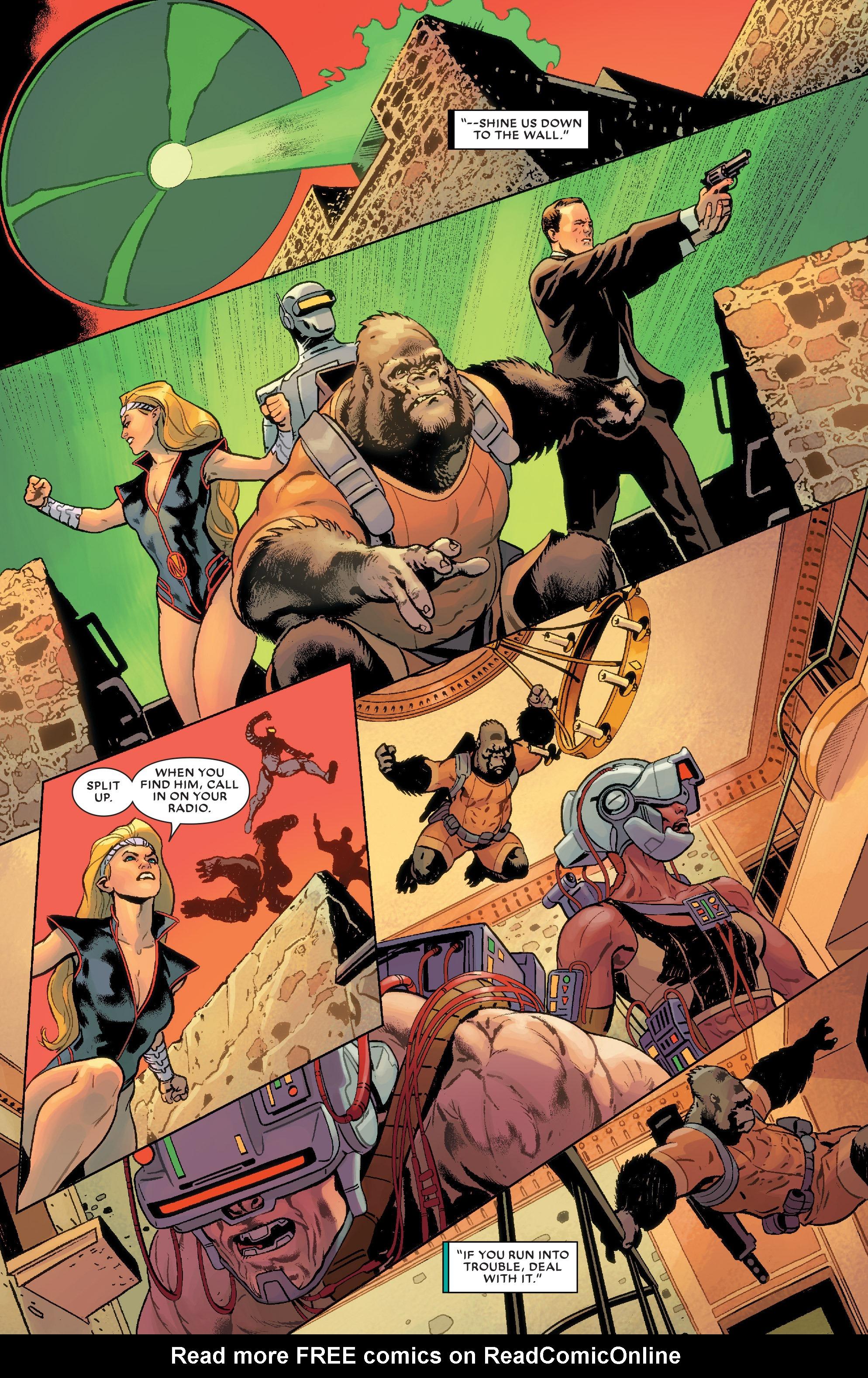 Read online Secret Wars: Agents of Atlas comic -  Issue # Full - 19