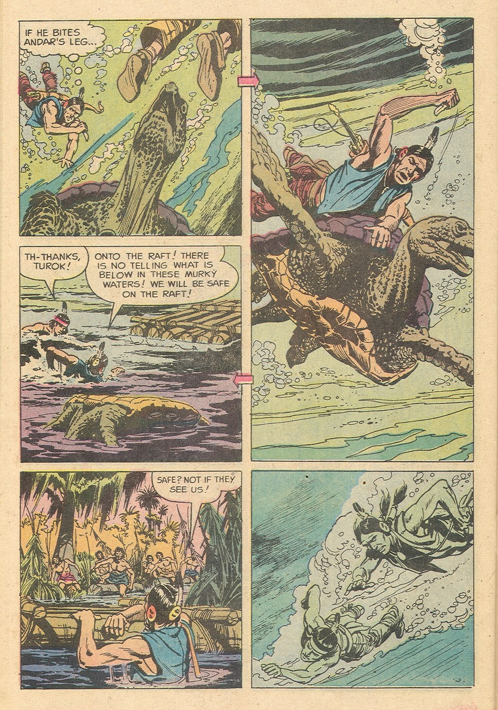 Read online Turok, Son of Stone comic -  Issue #129 - 30