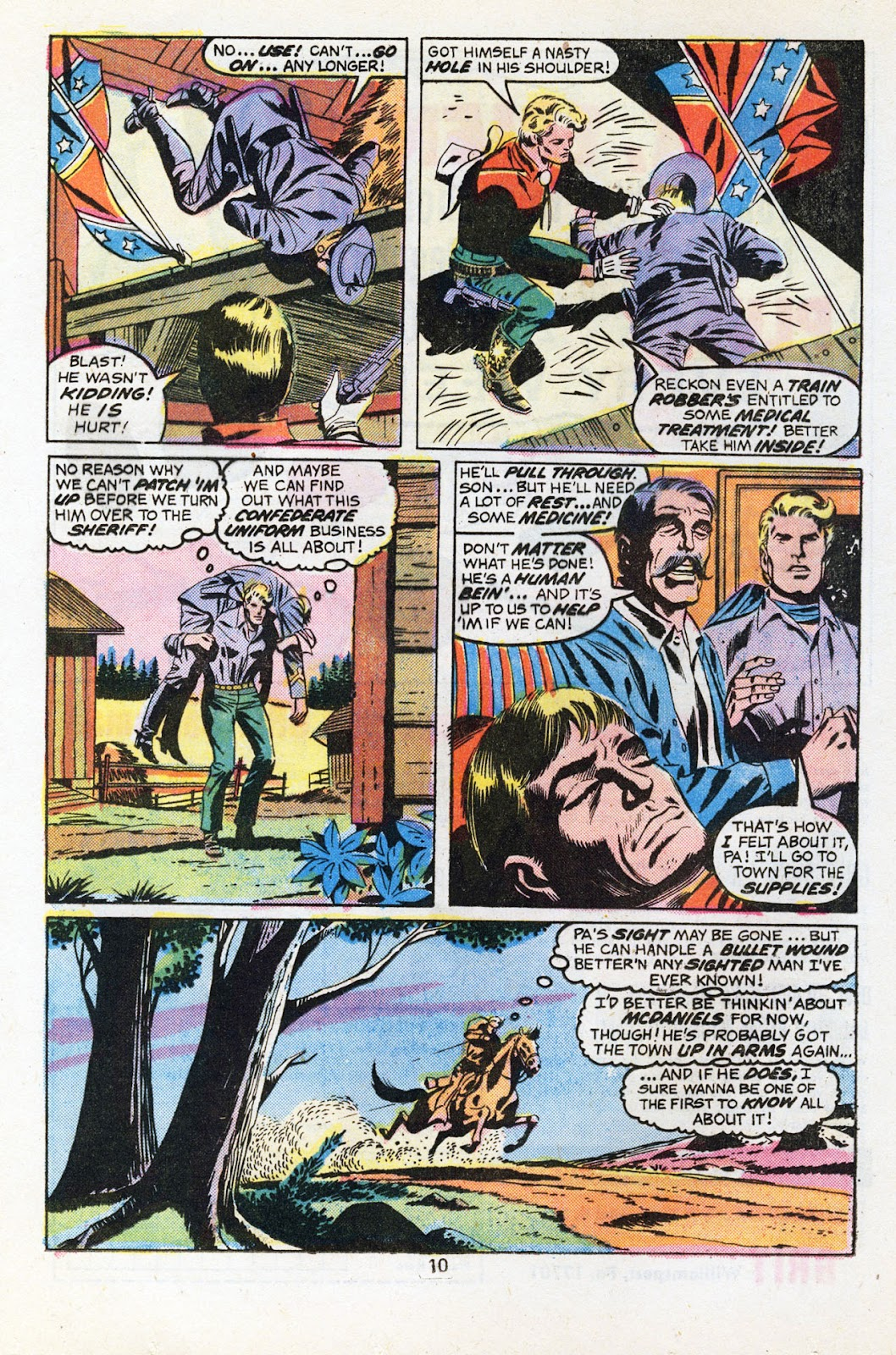The Outlaw Kid (1970) issue 30 - Page 12