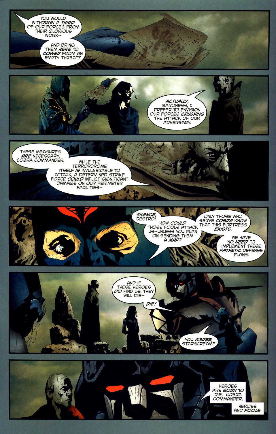 Read online Transformers/G.I. Joe comic -  Issue #1 - 13
