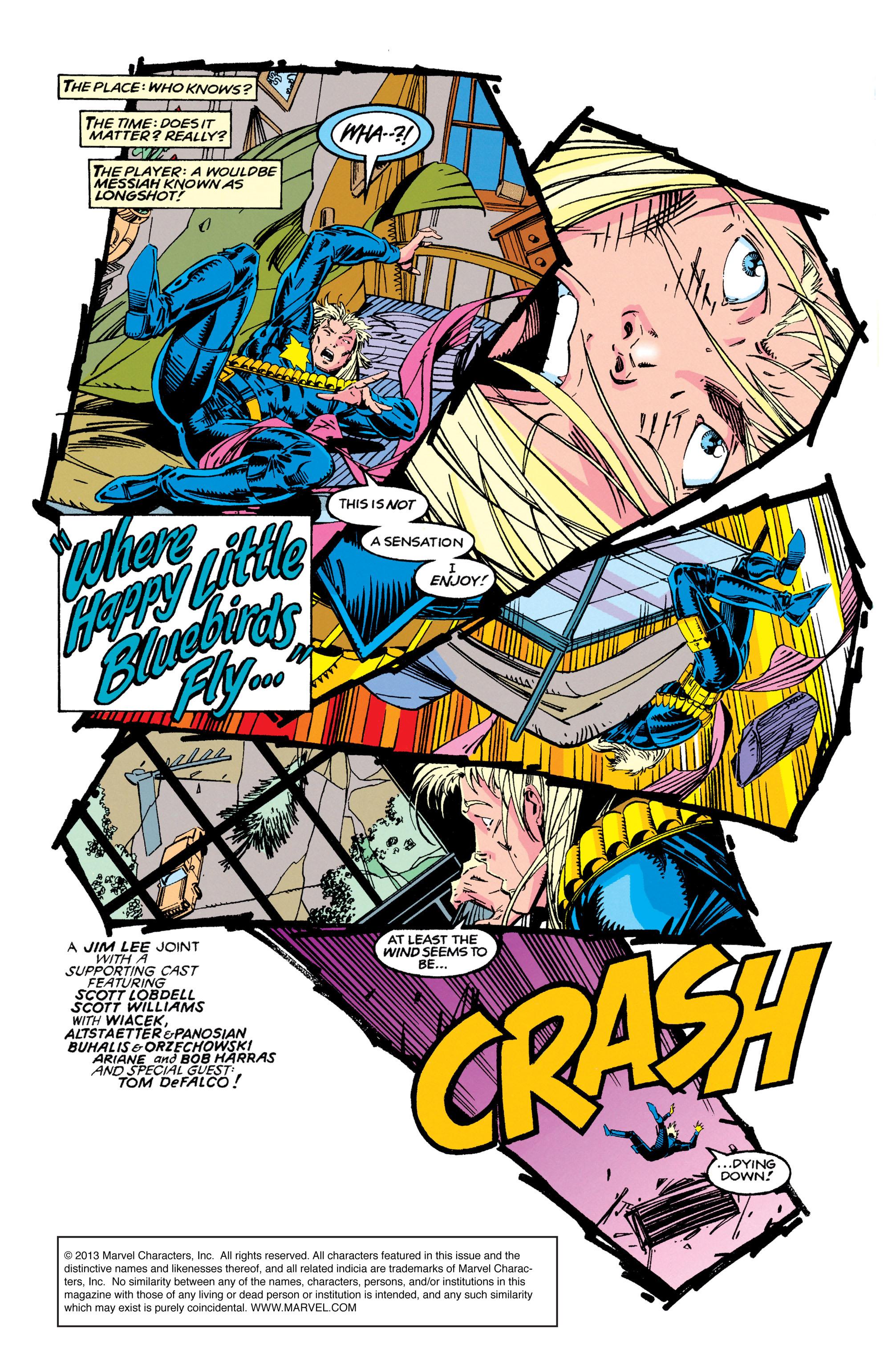 X-Men (1991) 10 Page 1
