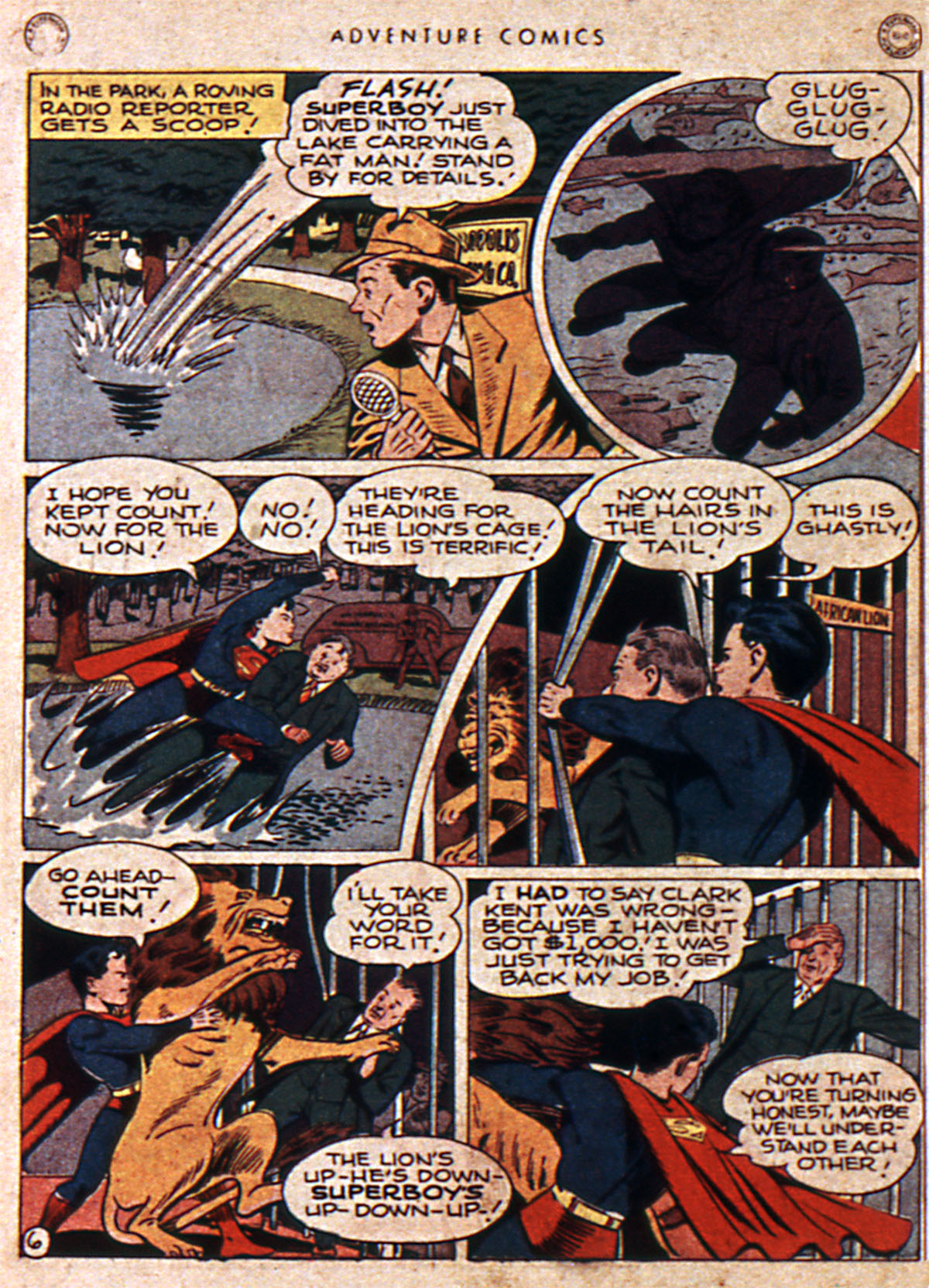 Read online Adventure Comics (1938) comic -  Issue #111 - 8