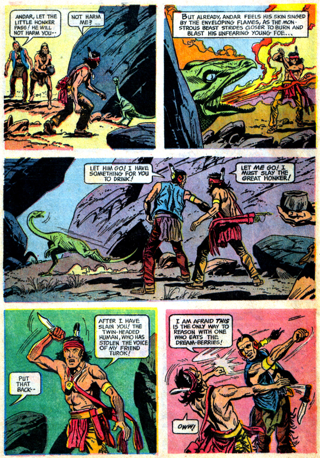 Read online Turok, Son of Stone comic -  Issue #62 - 28