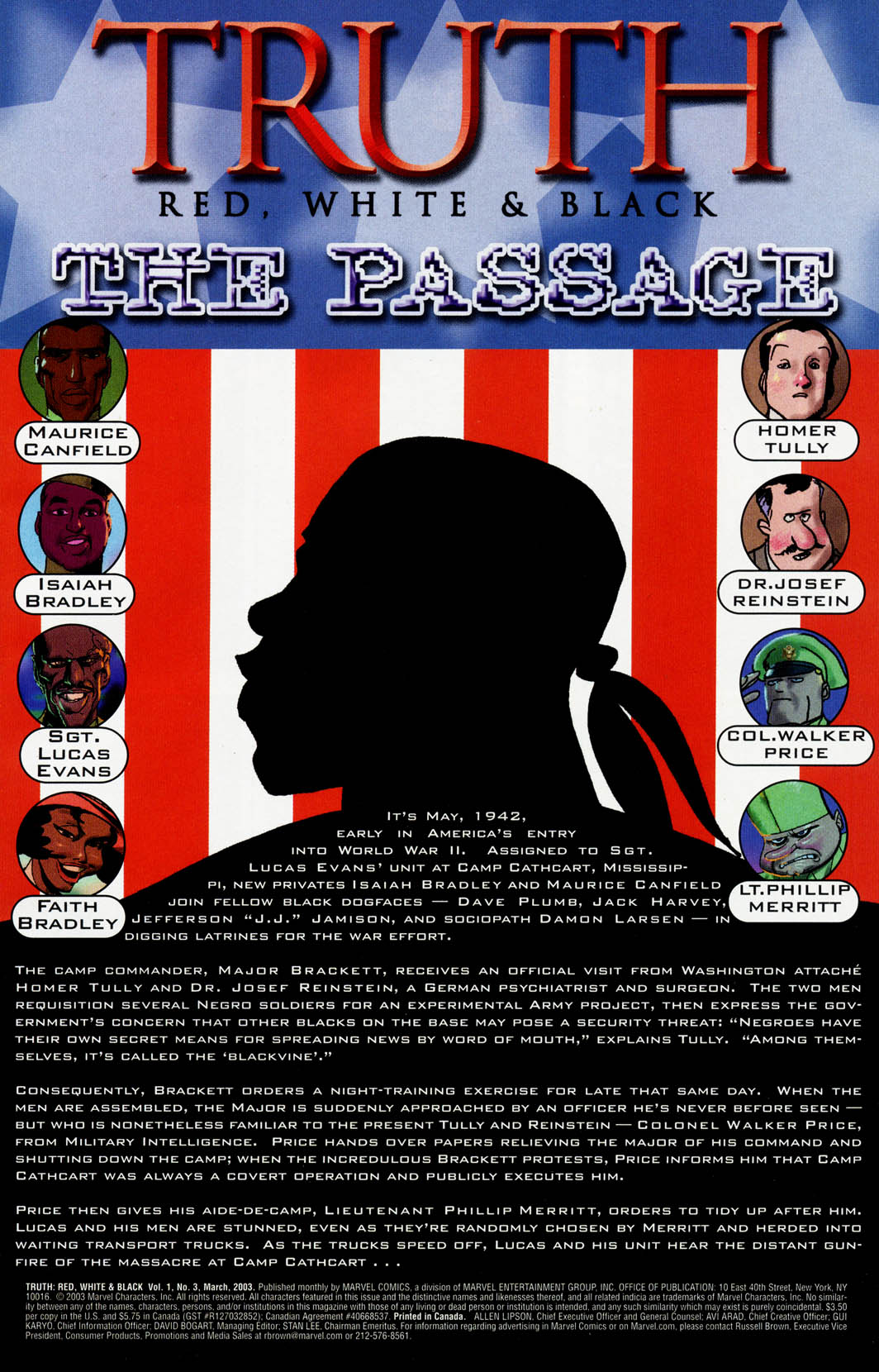 Read online Truth: Red, White & Black comic -  Issue #3 - 2