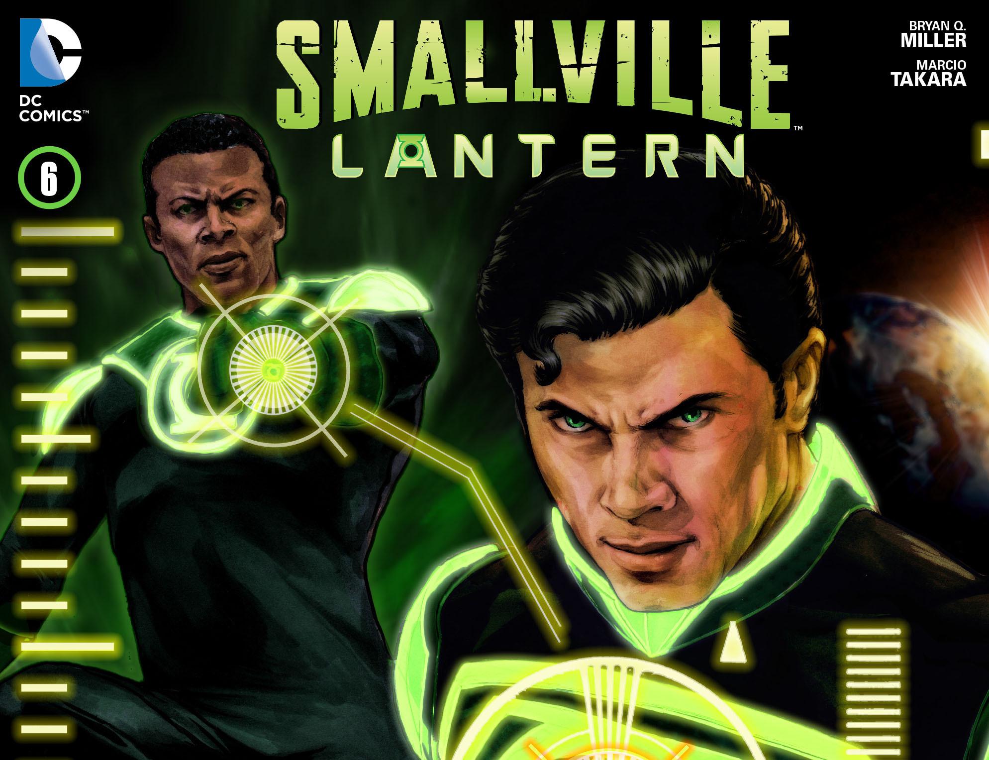 Read online Smallville: Lantern [I] comic -  Issue #6 - 1