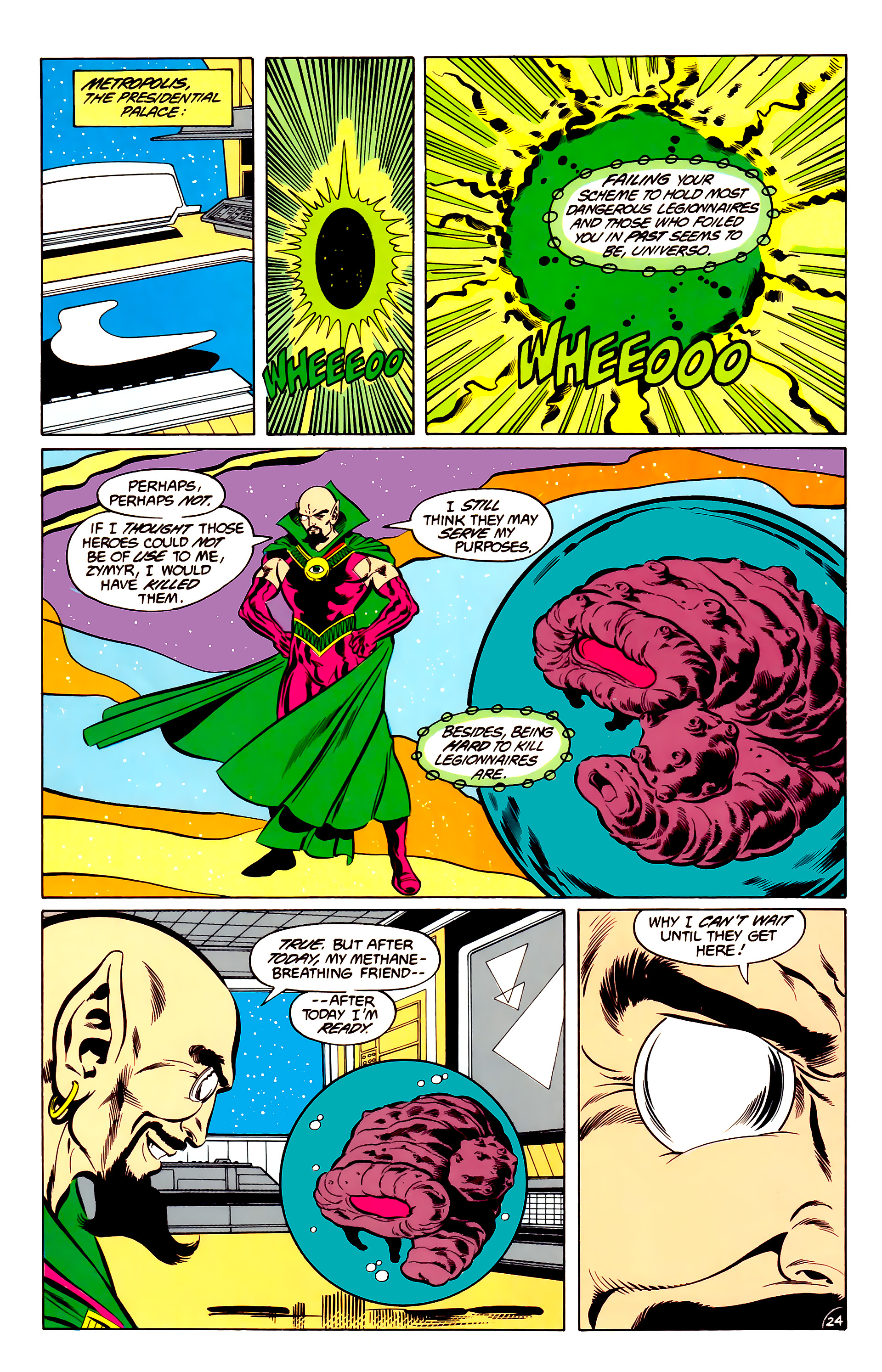 Legion of Super-Heroes (1984) 34 Page 24