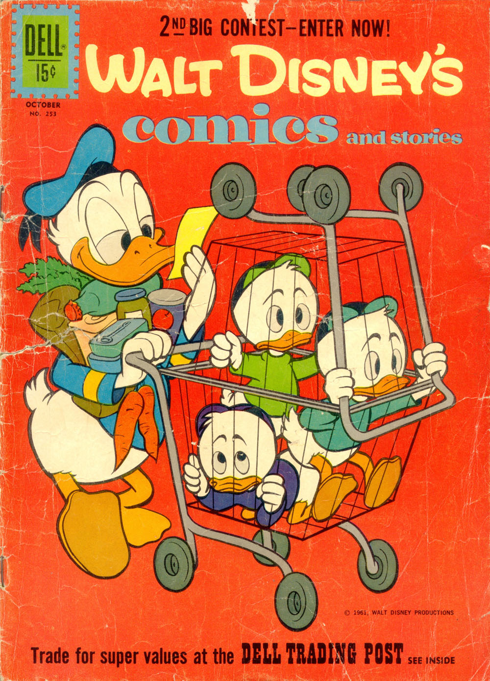 Walt Disneys Comics and Stories 253 Page 1