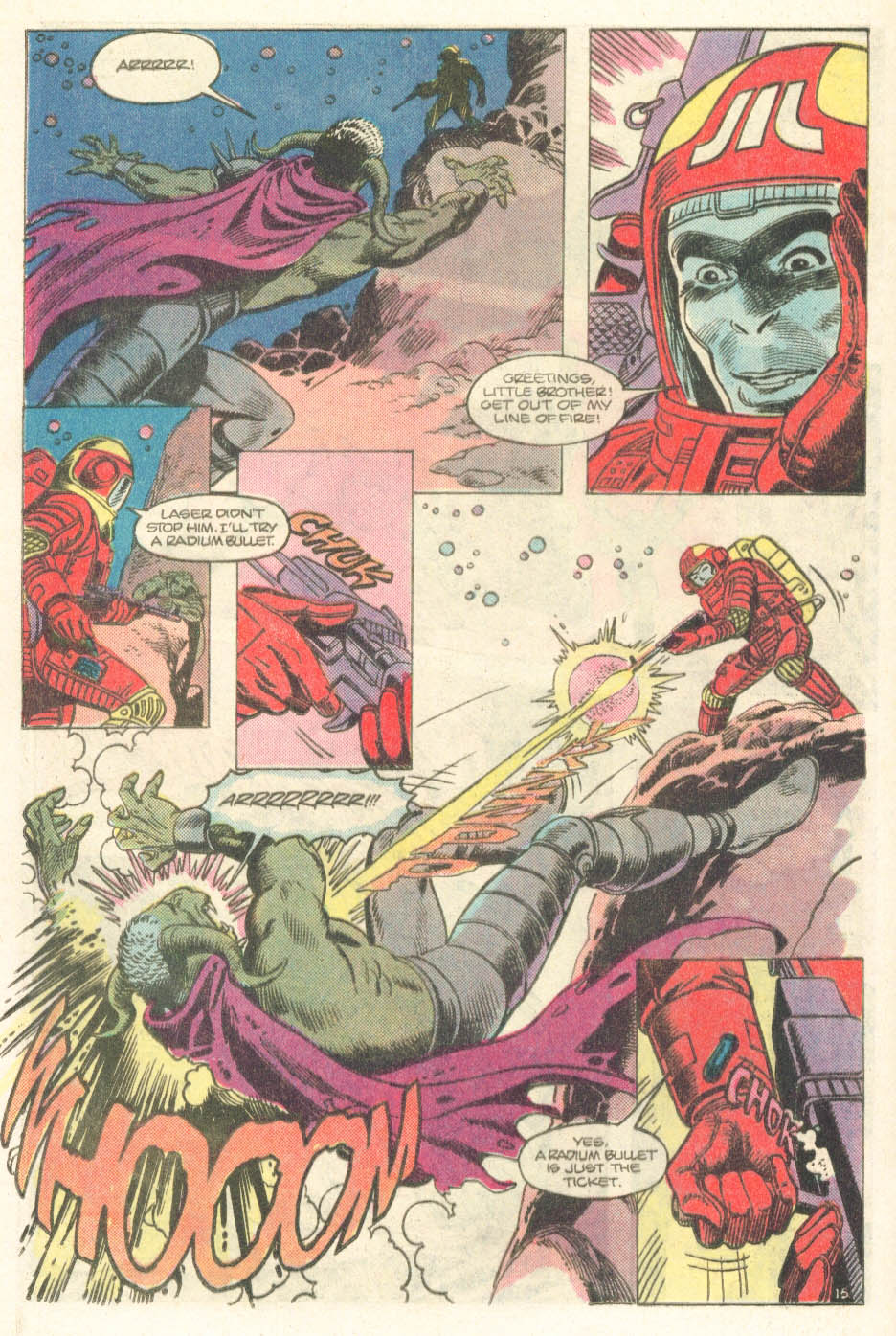 Read online Atari Force (1984) comic -  Issue #14 - 17