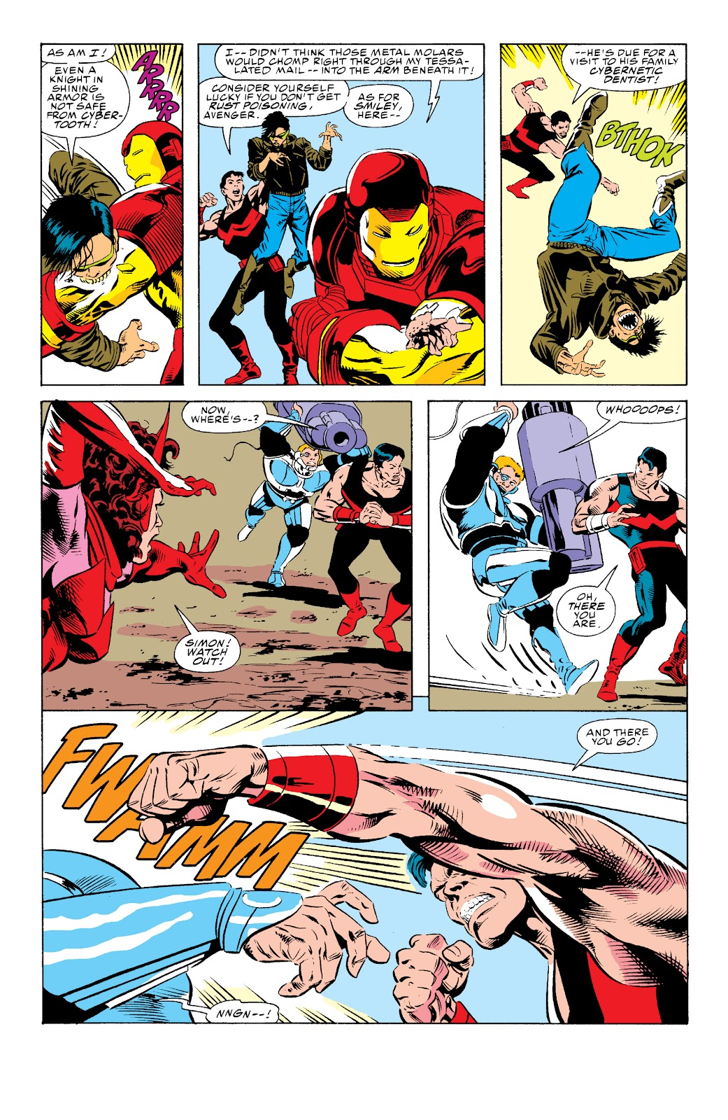 Avengers West Coast (1989) issue 74 - Page 12