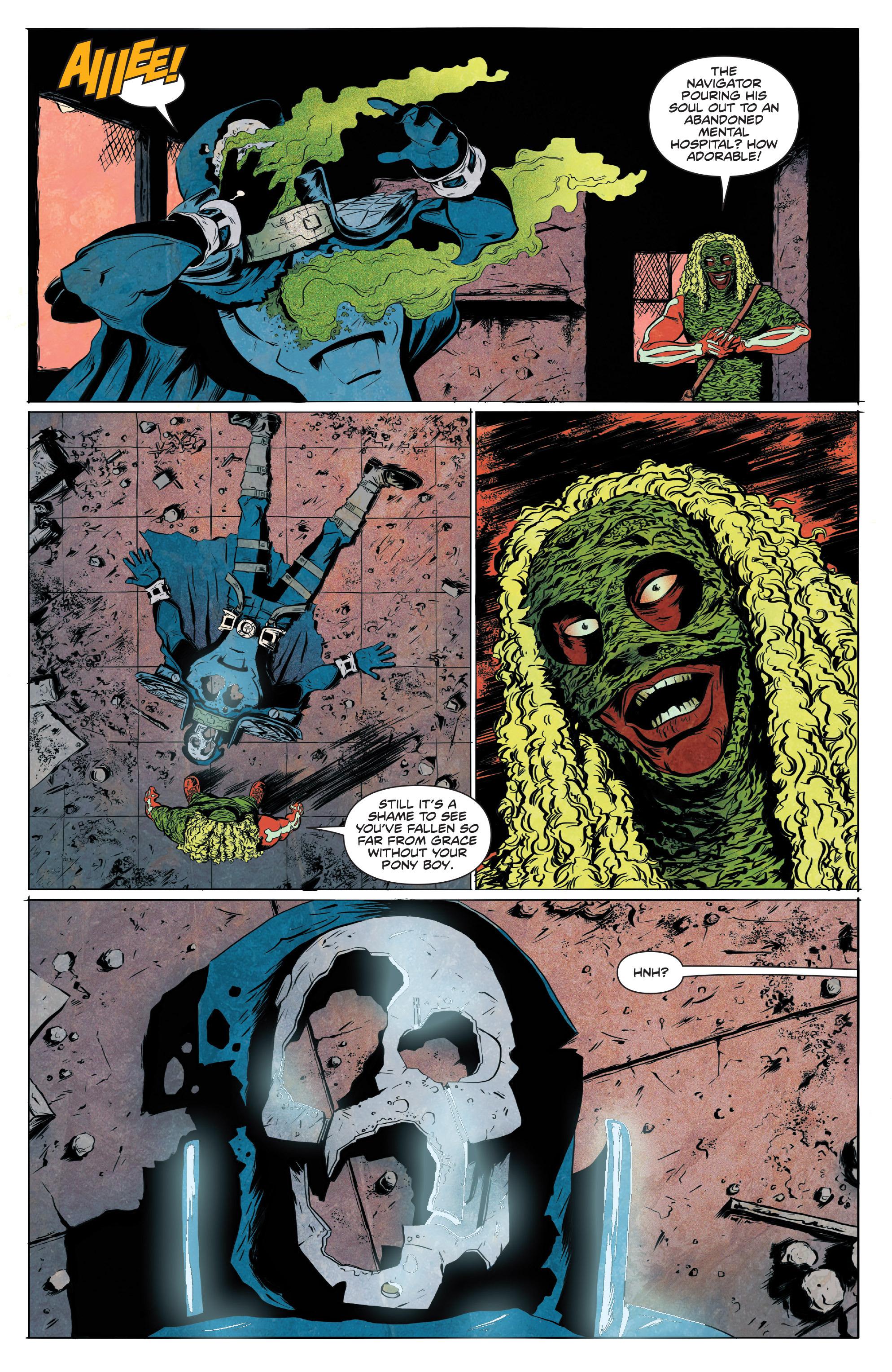 Read online Translucid comic -  Issue #4 - 12