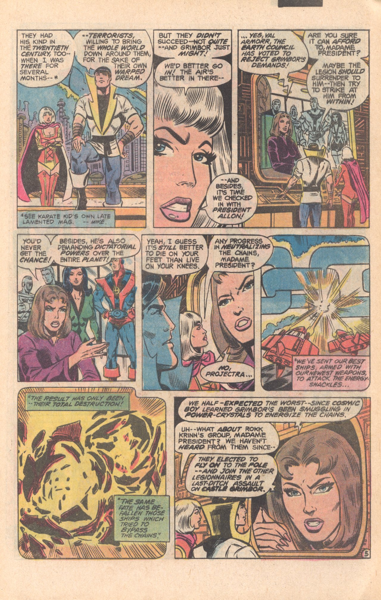 Legion of Super-Heroes (1980) 279 Page 5