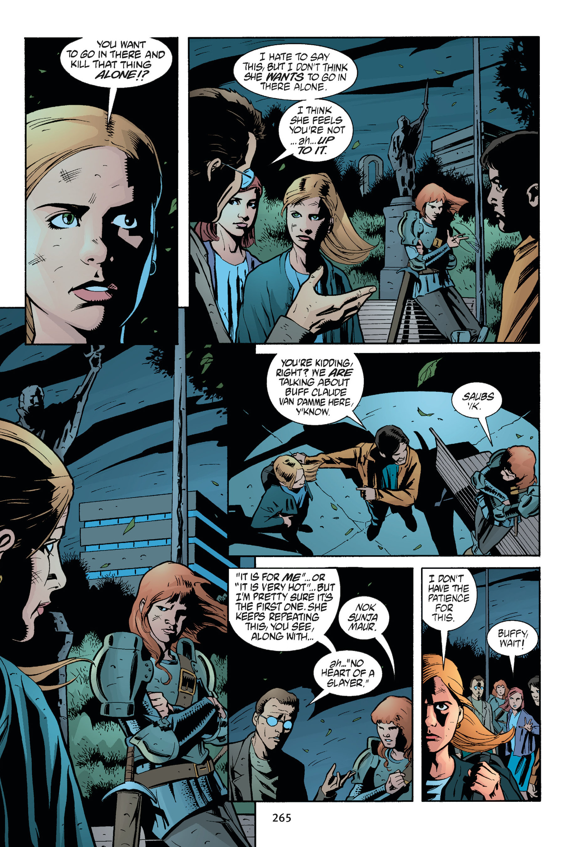 Read online Buffy the Vampire Slayer: Omnibus comic -  Issue # TPB 5 - 264