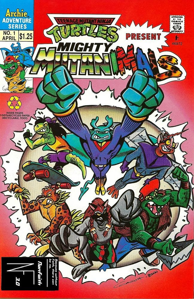 Mighty Mutanimals (1992) 1 Page 1