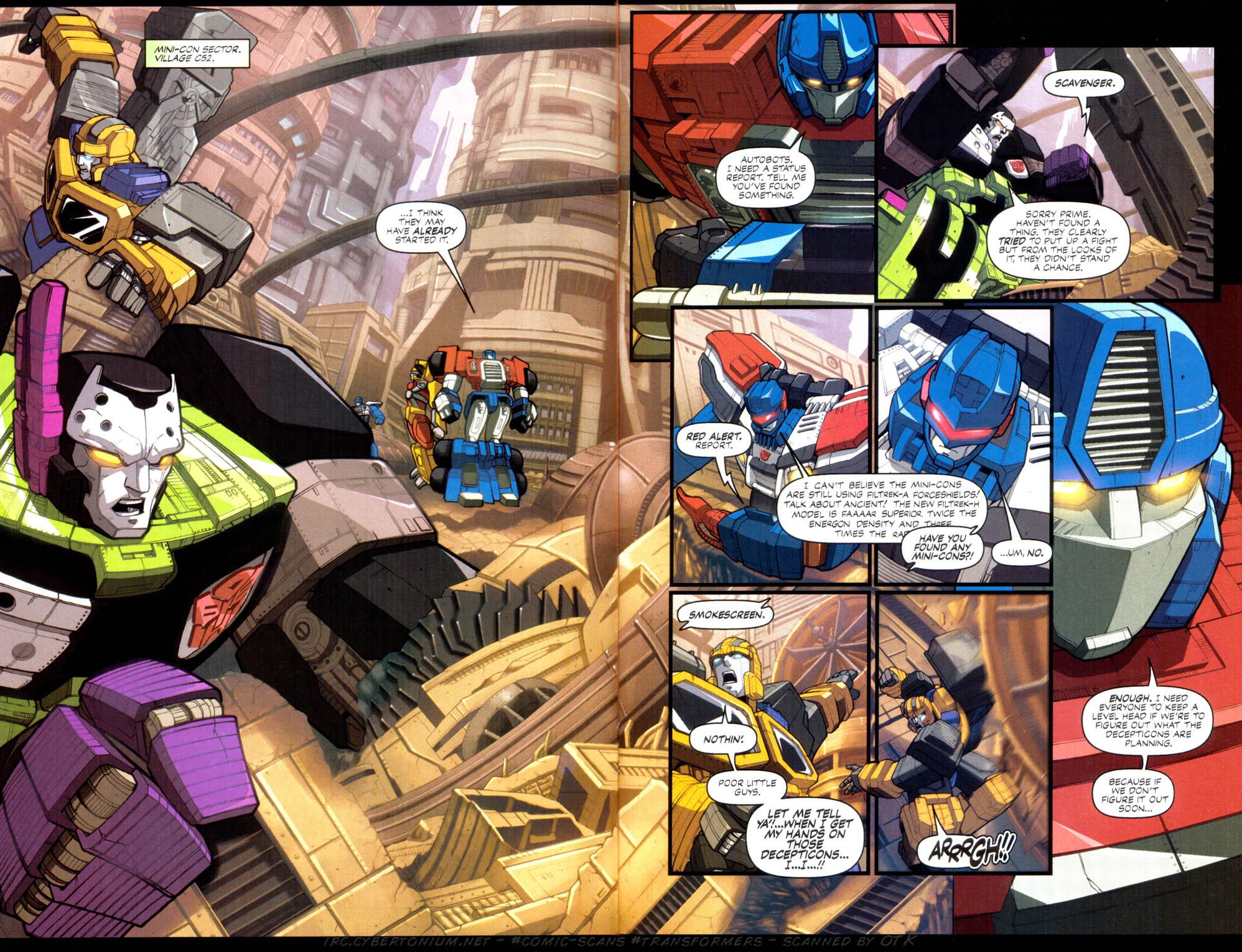 Read online Transformers Armada comic -  Issue #2 - 4