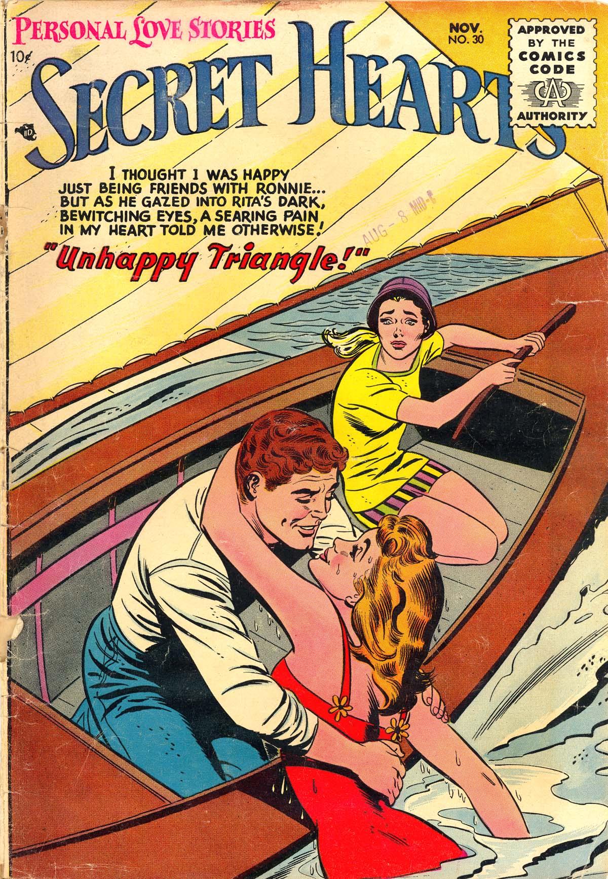 Read online Secret Hearts comic -  Issue #30 - 1