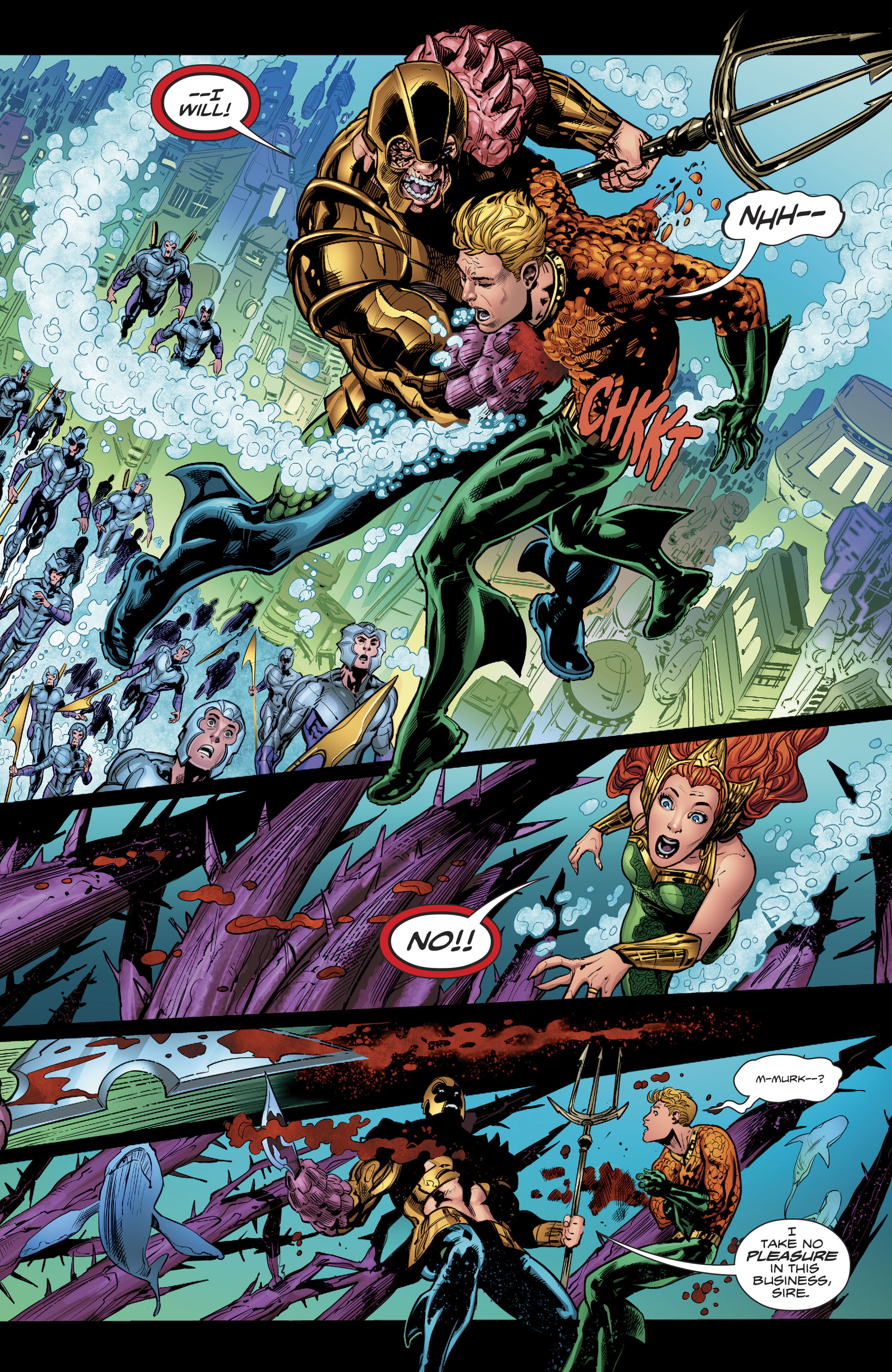 Read online Aquaman (2016) comic -  Issue #24 - 20