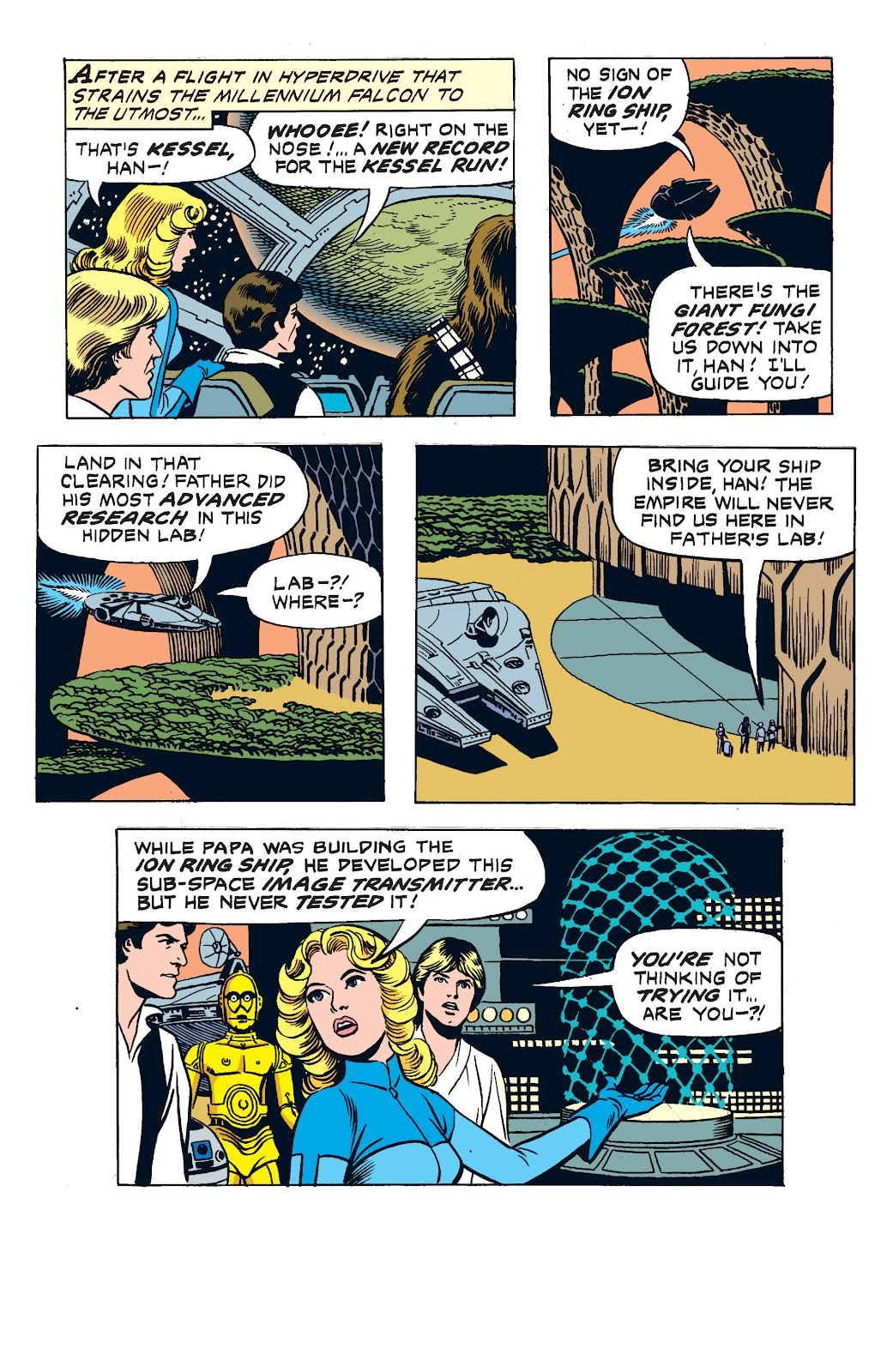 Read online Star Wars Legends: The Newspaper Strips - Epic Collection comic -  Issue # TPB (Part 2) - 89