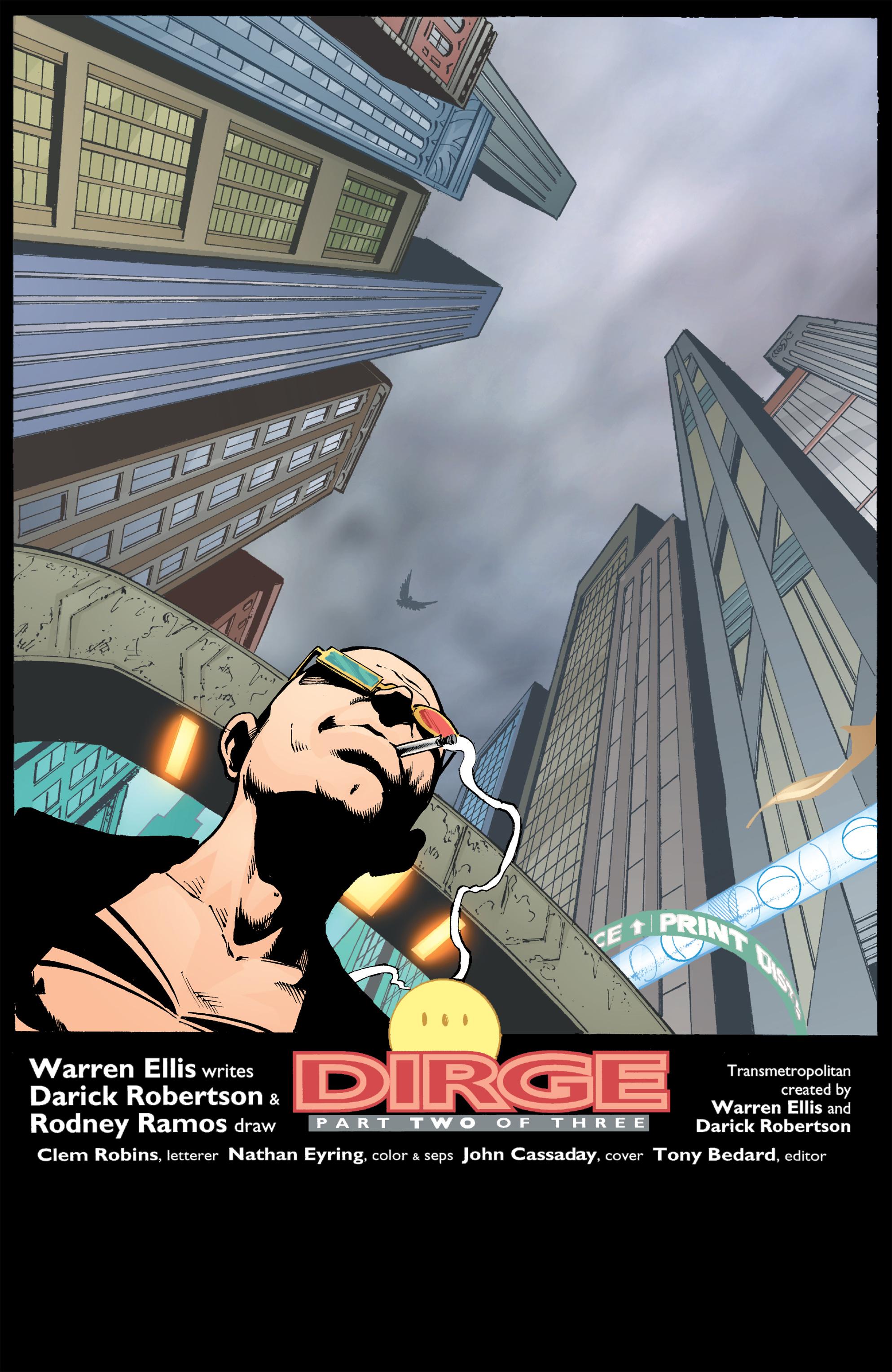 Read online Transmetropolitan comic -  Issue #44 - 2