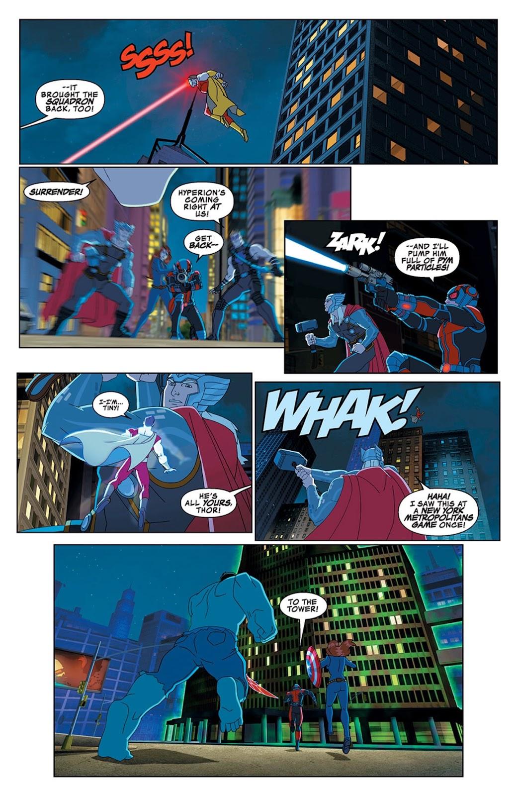 Read online Marvel Universe Avengers Assemble Season 2 comic -  Issue #13 - 19