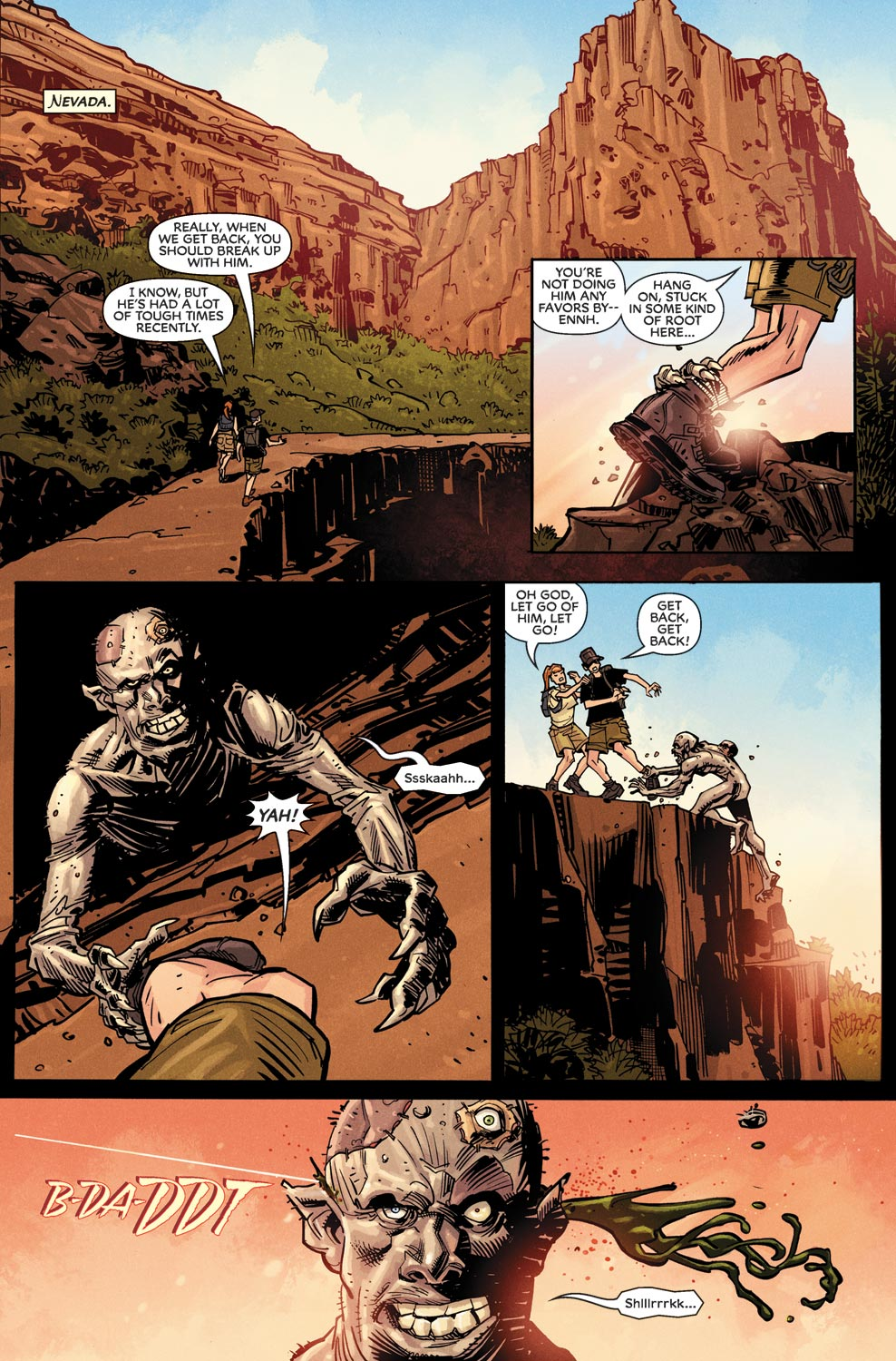 Read online Agents Of Atlas (2009) comic -  Issue #9 - 6