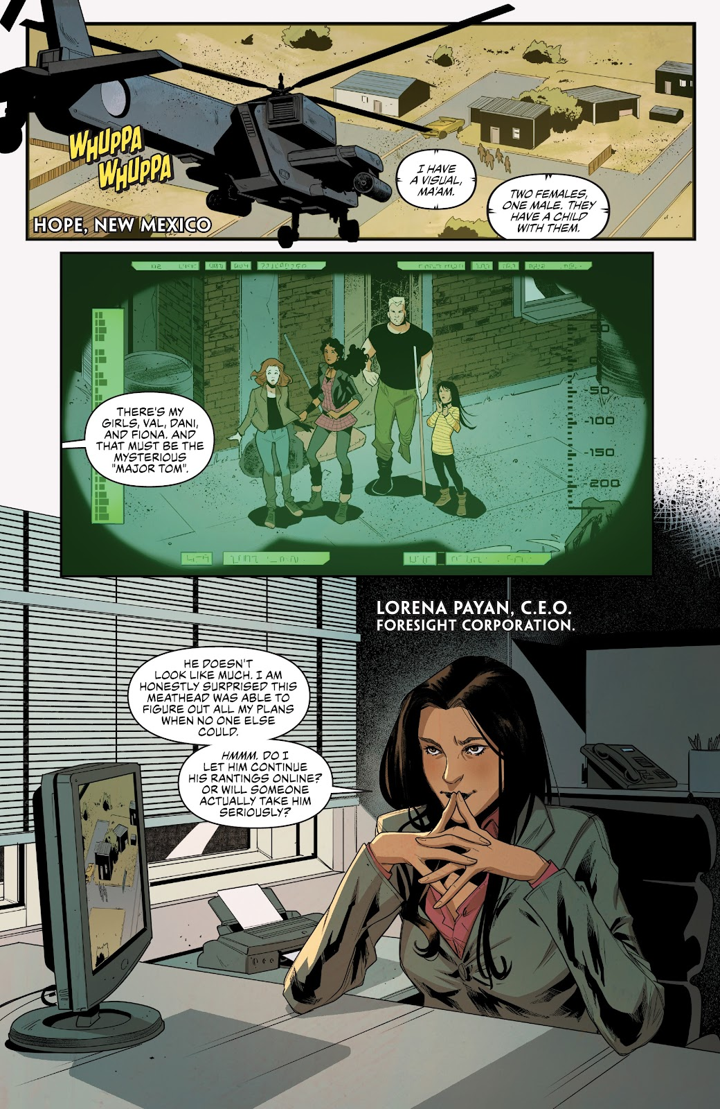 Read online Summit comic -  Issue #13 - 3