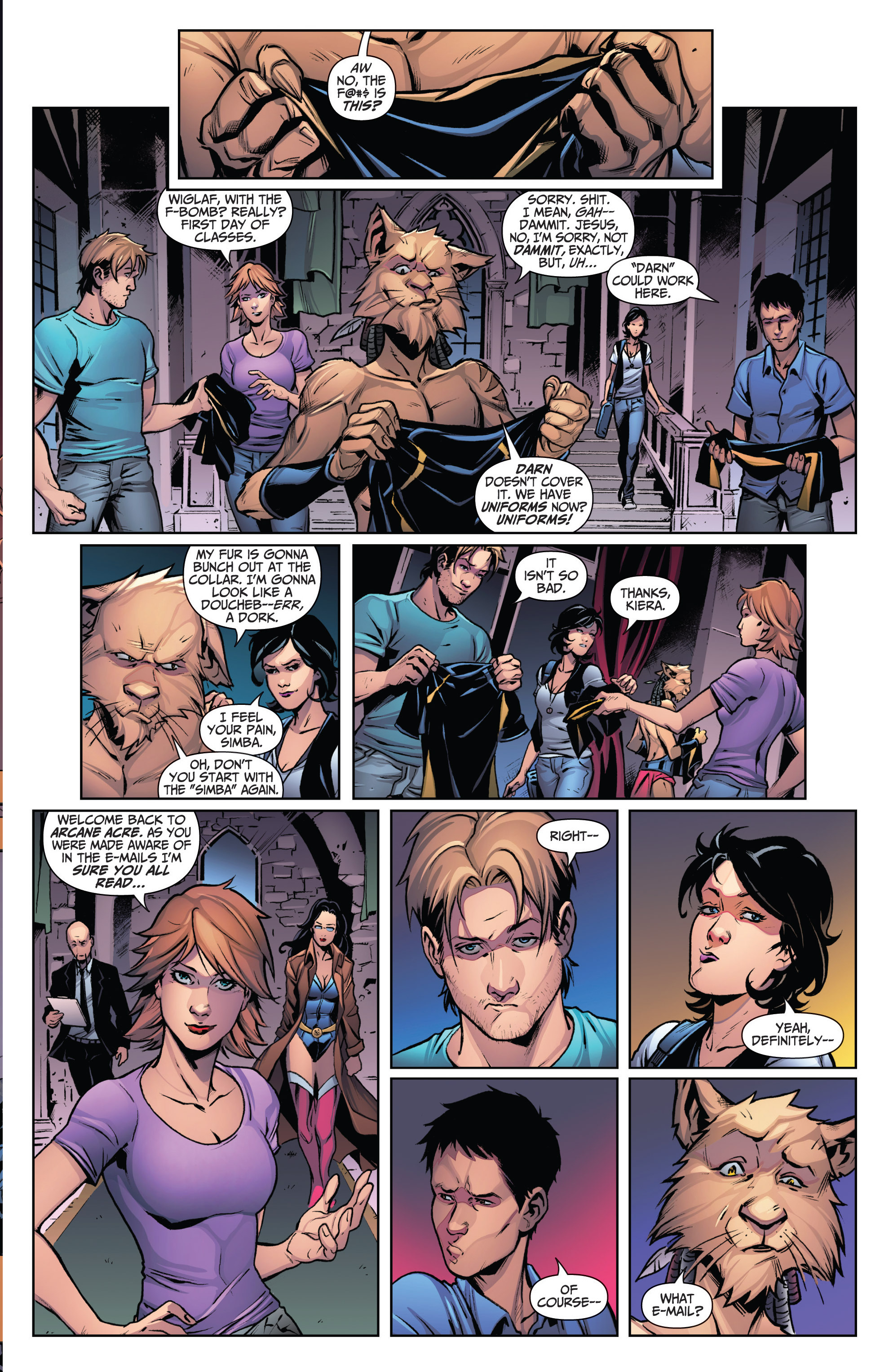 Read online Grimm Fairy Tales: Arcane Acre comic -  Issue # TPB 3 - 9