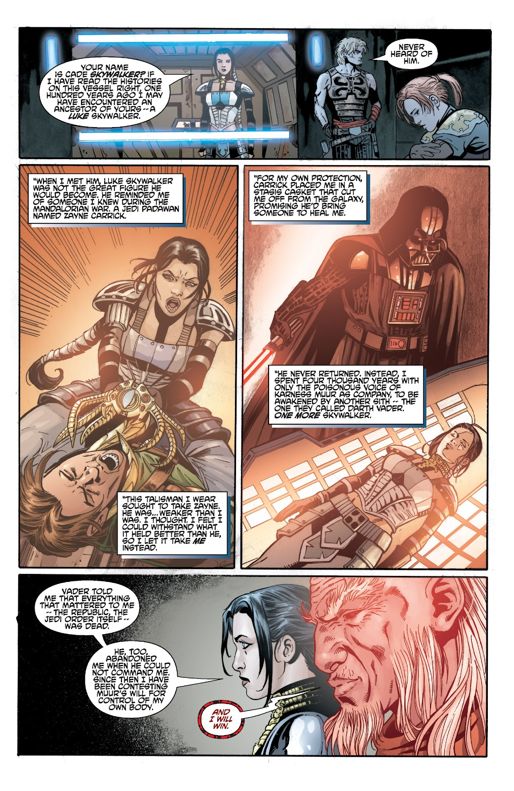 Read online Star Wars Legends: Legacy - Epic Collection comic -  Issue # TPB 2 (Part 3) - 15