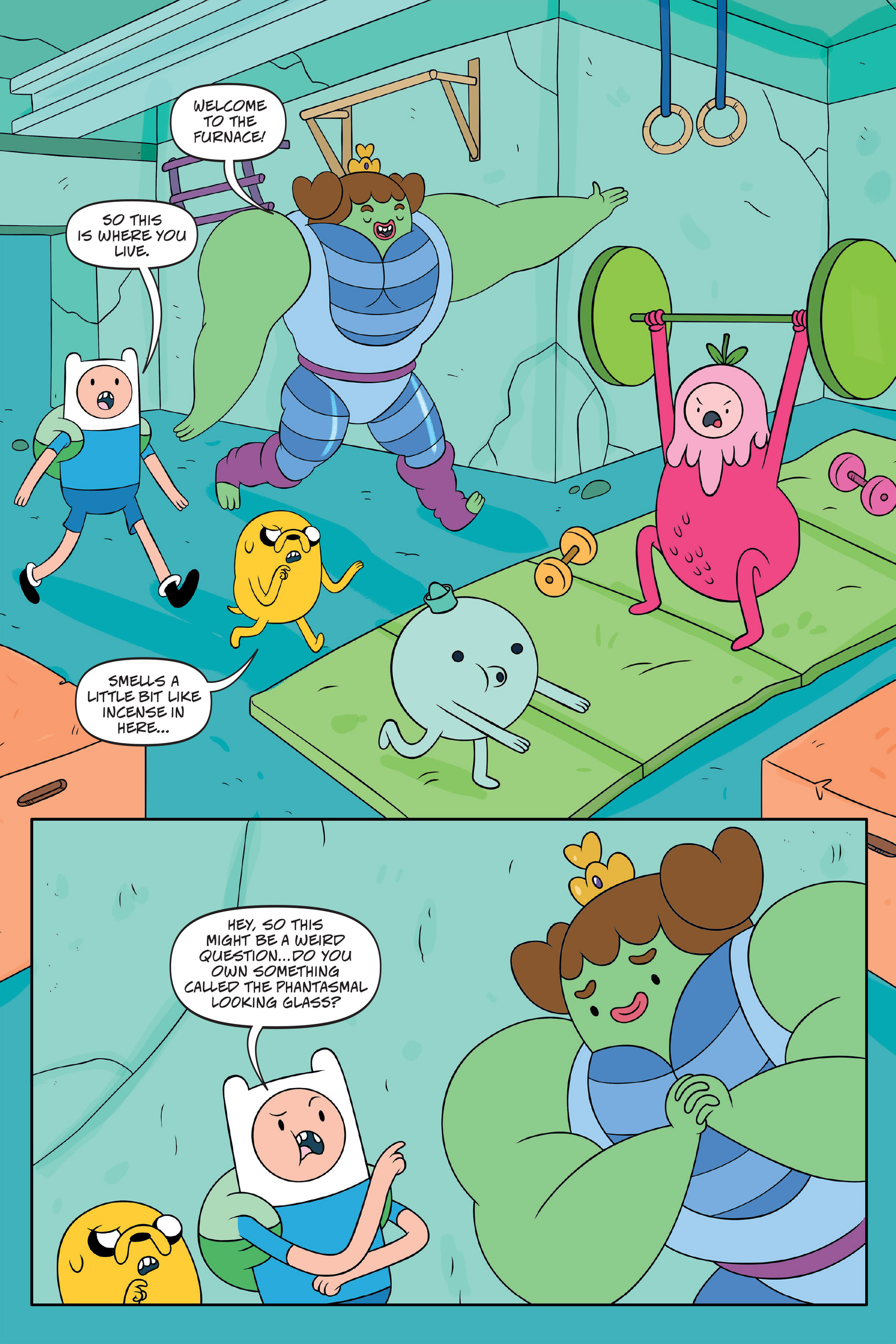 Read online Adventure Time: The Four Castles comic -  Issue #Adventure Time: The Four Castles TPB - 37