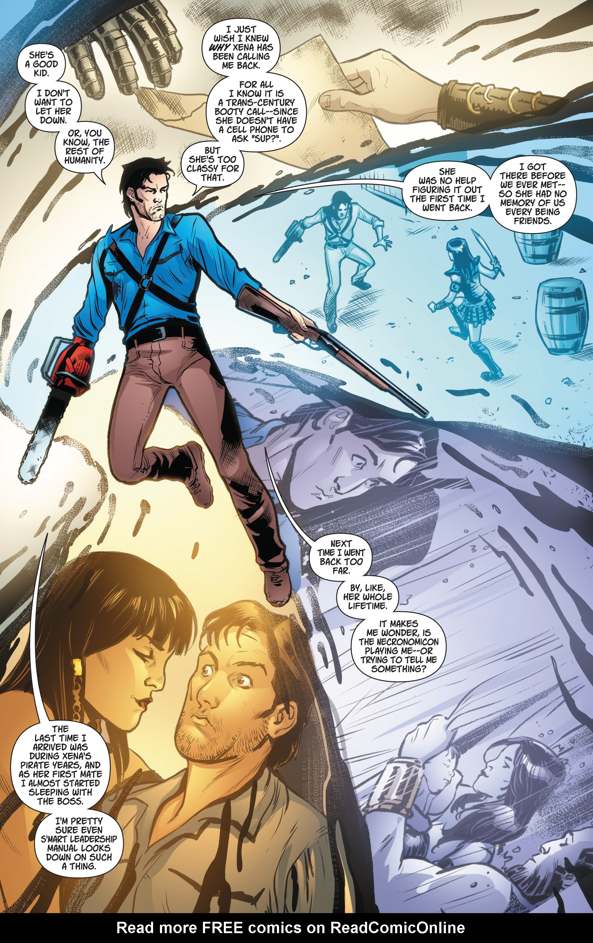 Read online Army Of Darkness/Xena: Forever…And A Day comic -  Issue #4 - 6