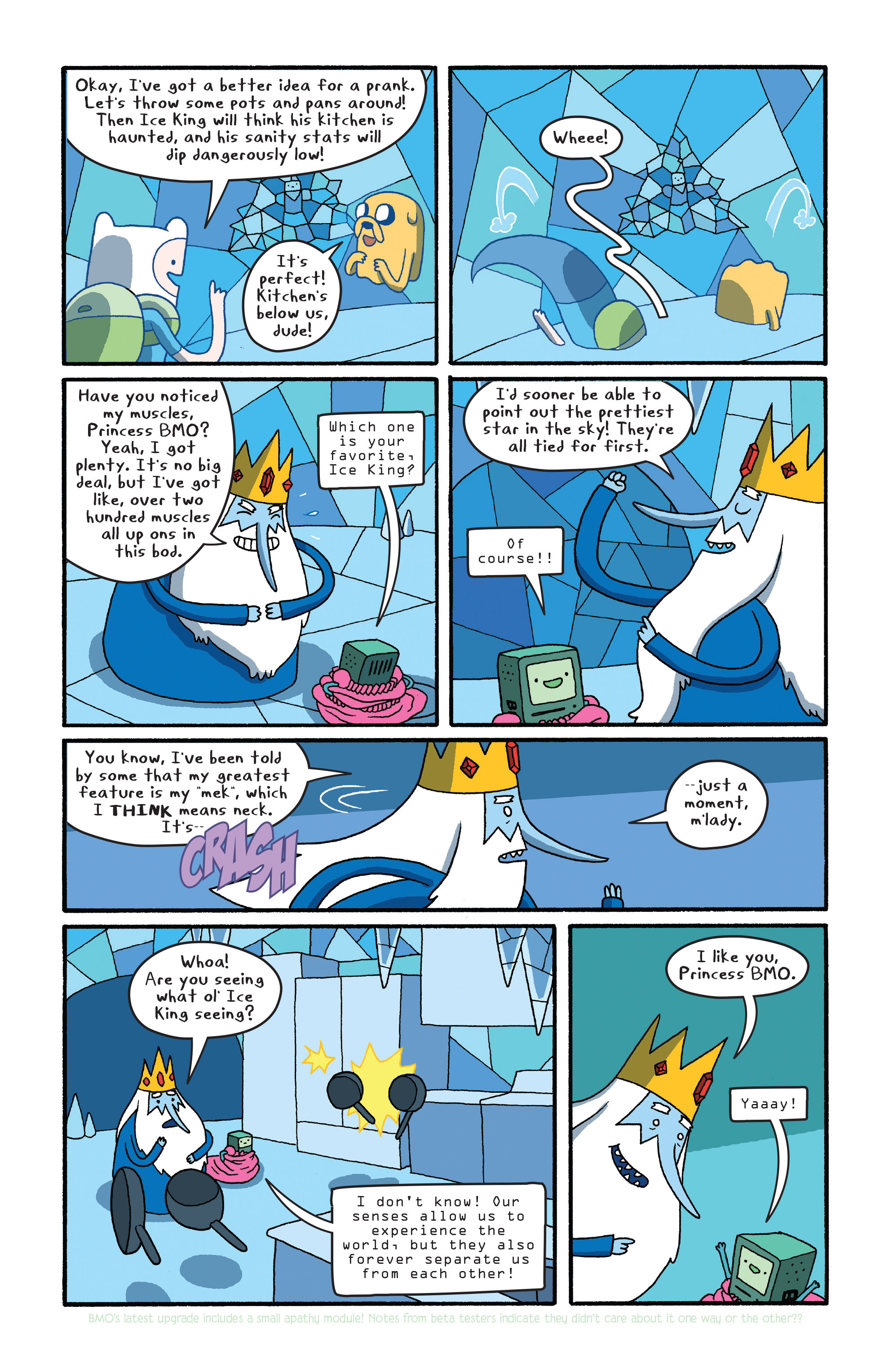 Read online Adventure Time comic -  Issue #27 - 9
