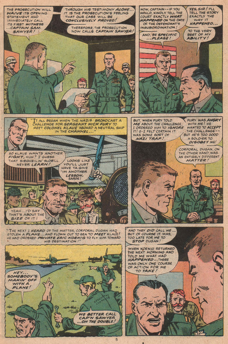 Read online Sgt. Fury comic -  Issue #156 - 7