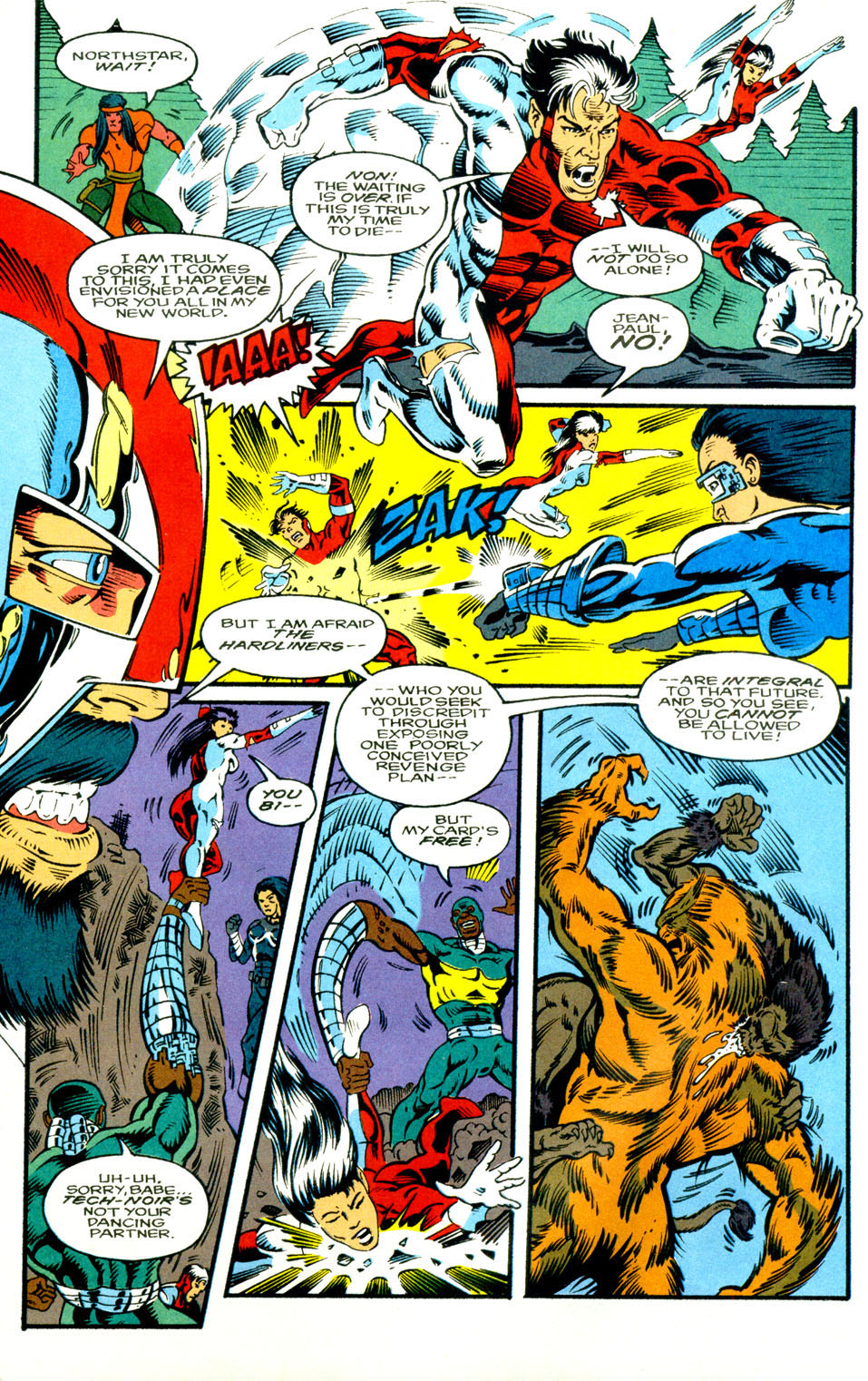Read online Alpha Flight (1983) comic -  Issue #130 - 9