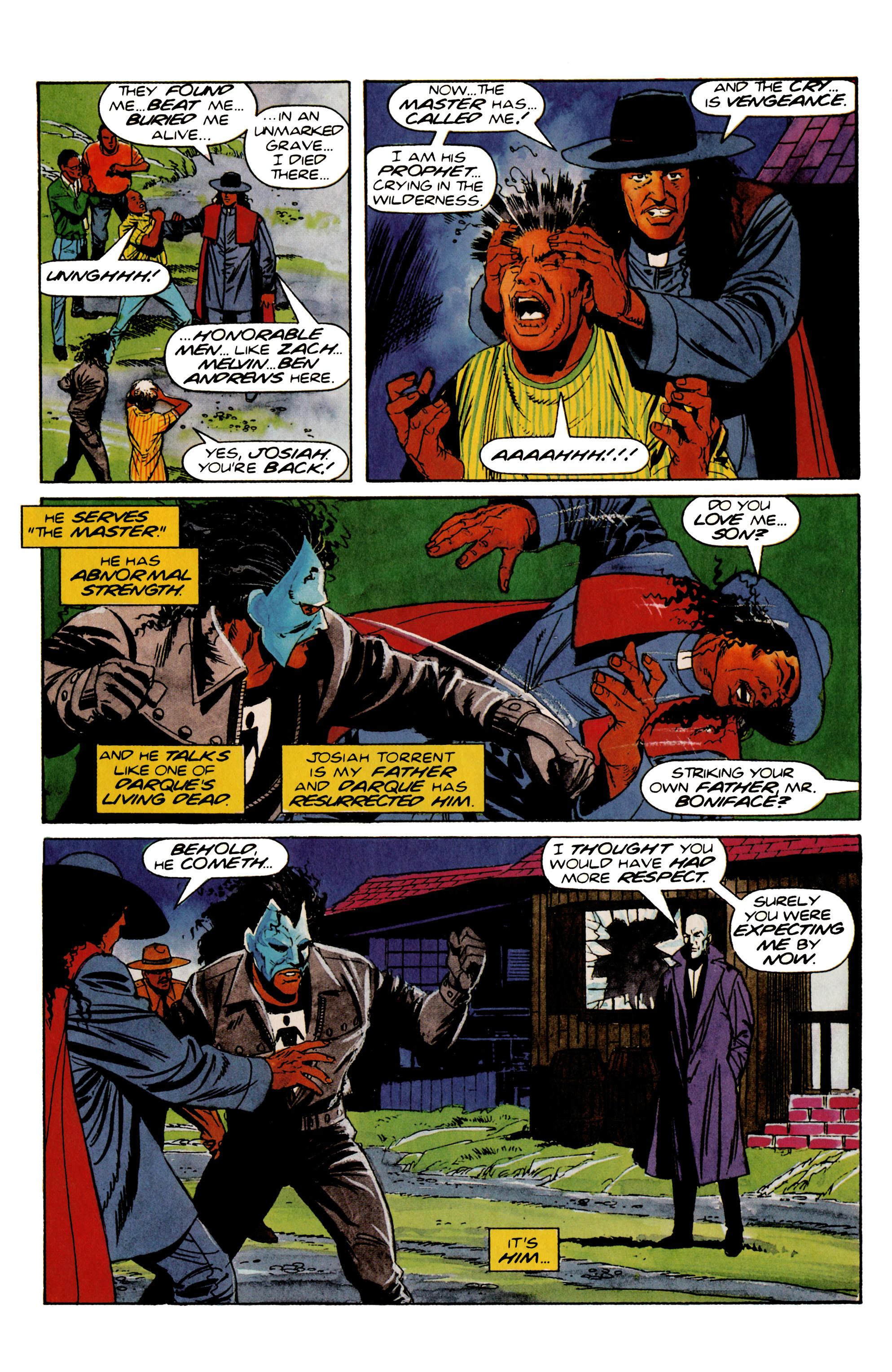 Read online Shadowman (1992) comic -  Issue #20 - 17
