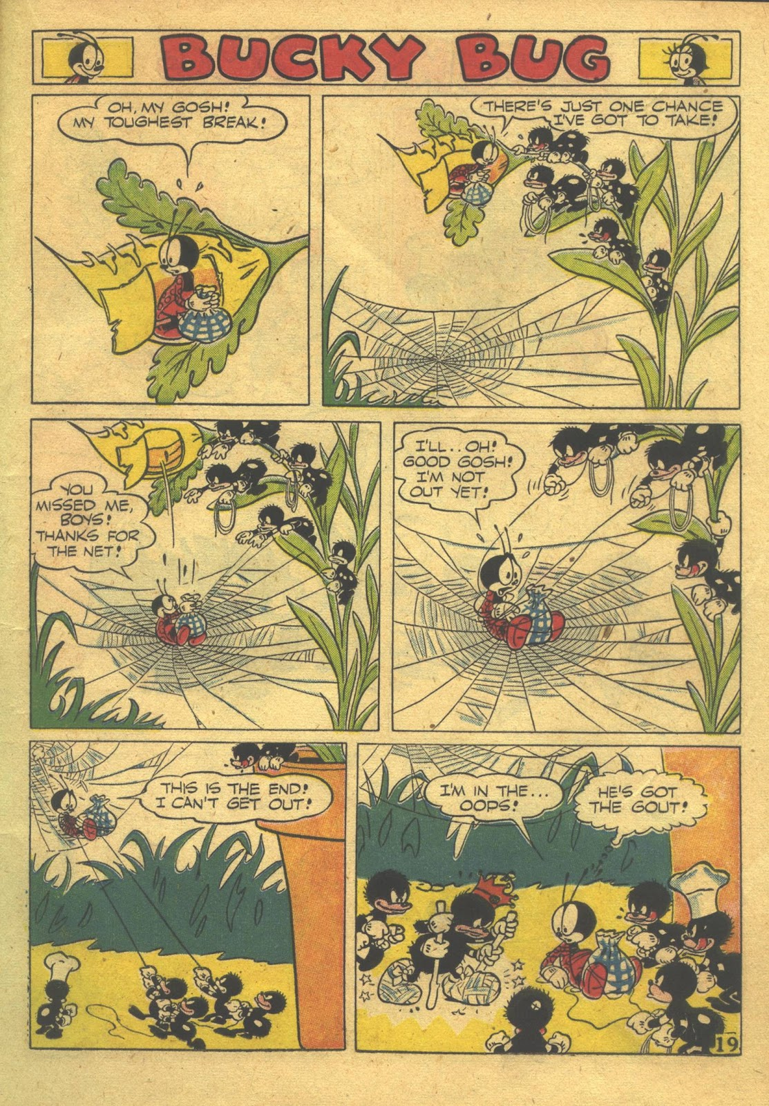 Walt Disney's Comics and Stories issue 39 - Page 21