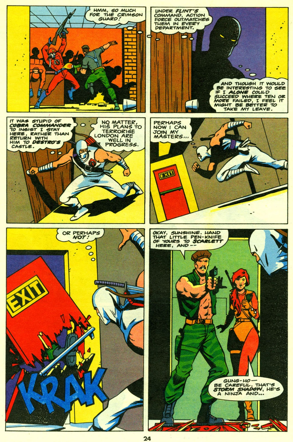G.I. Joe European Missions issue 14 - Page 24