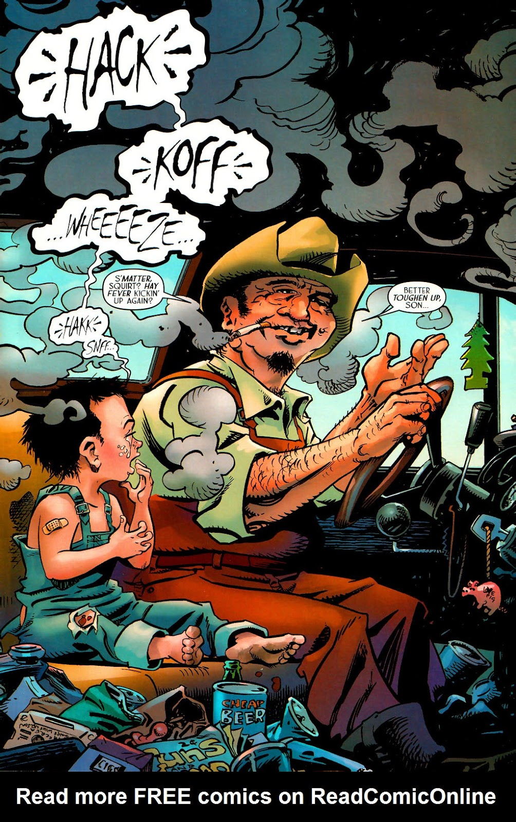 Read online Route 666 comic -  Issue #15 - 3