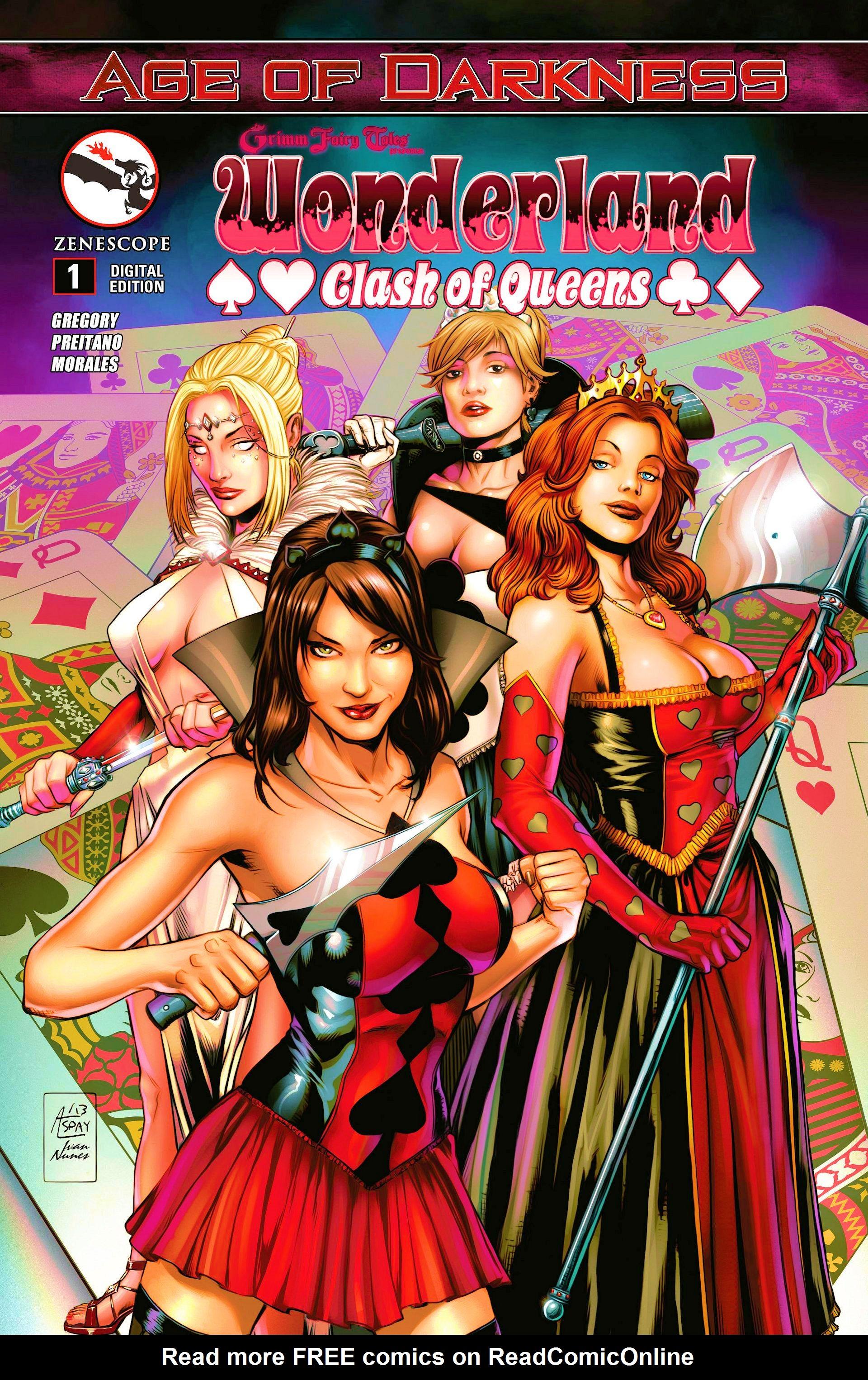 Grimm Fairy Tales Presents Wonderland Clash Of Queens