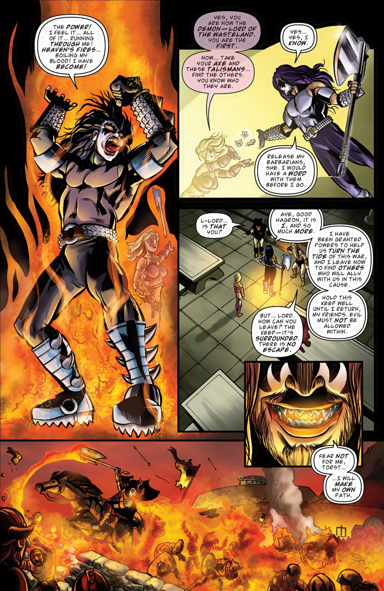 Read online KISS (2012) comic -  Issue #3 - 18