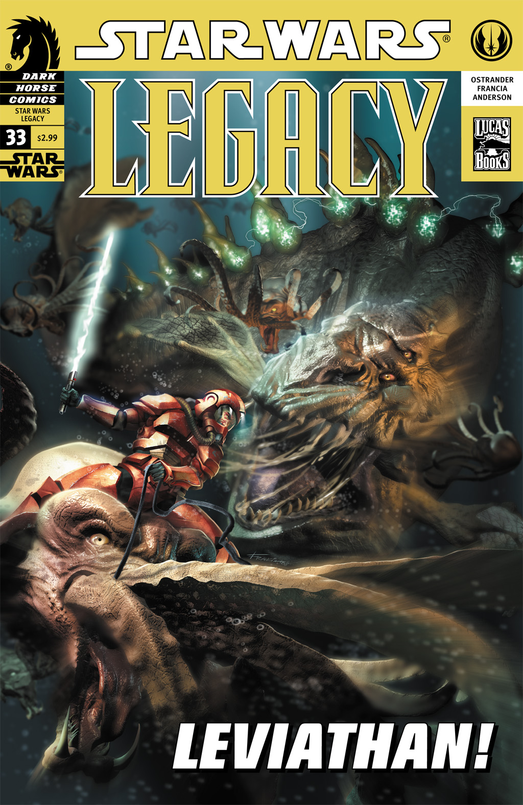 Star Wars: Legacy (2006) issue 33 - Page 1
