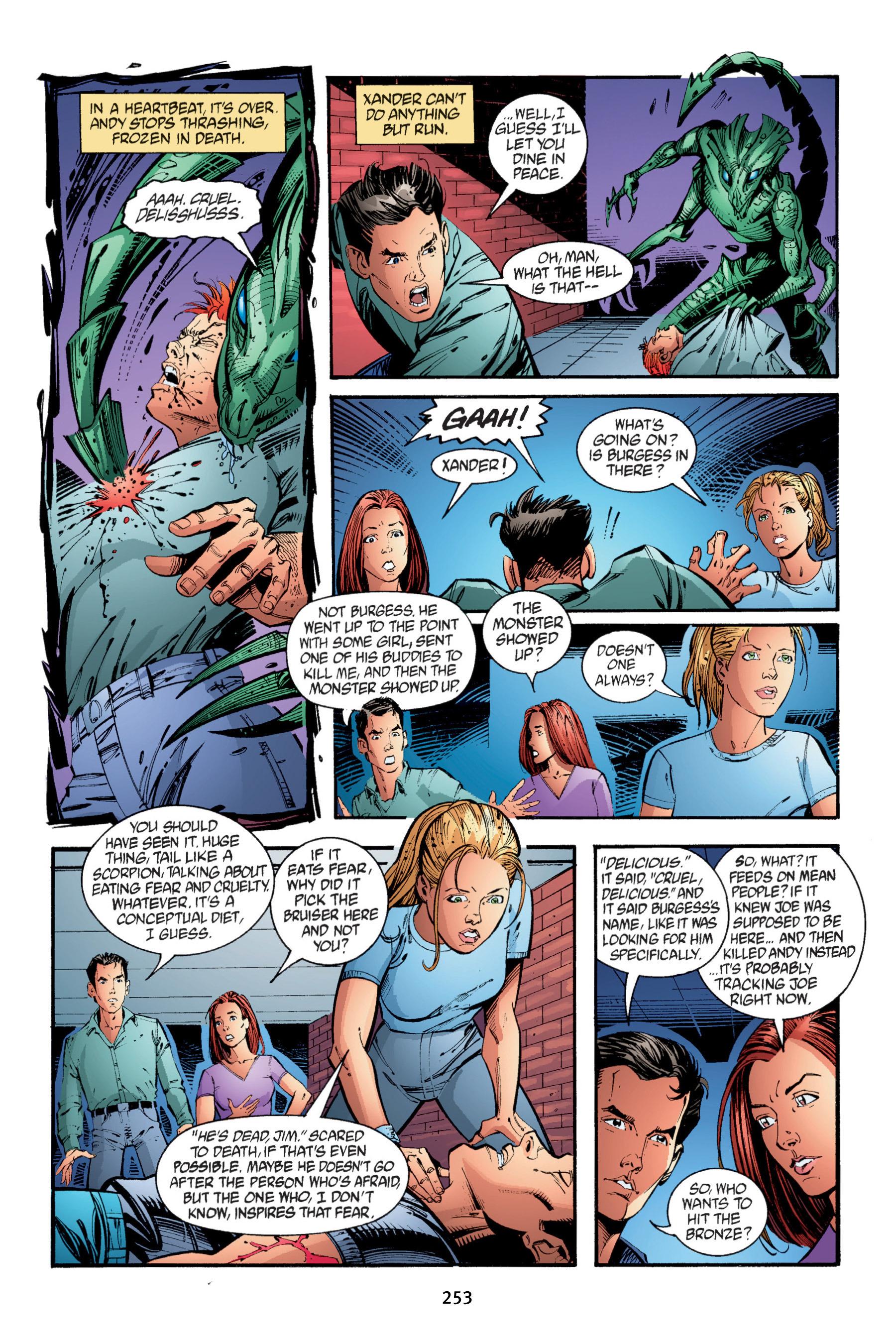 Read online Buffy the Vampire Slayer: Omnibus comic -  Issue # TPB 4 - 251