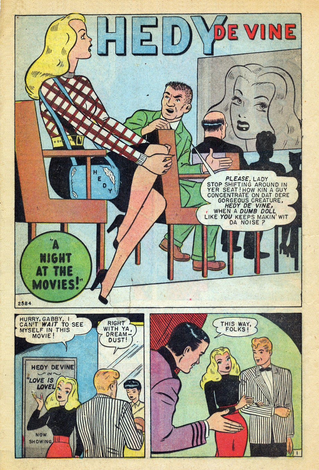 Read online Millie the Model comic -  Issue #14 - 24