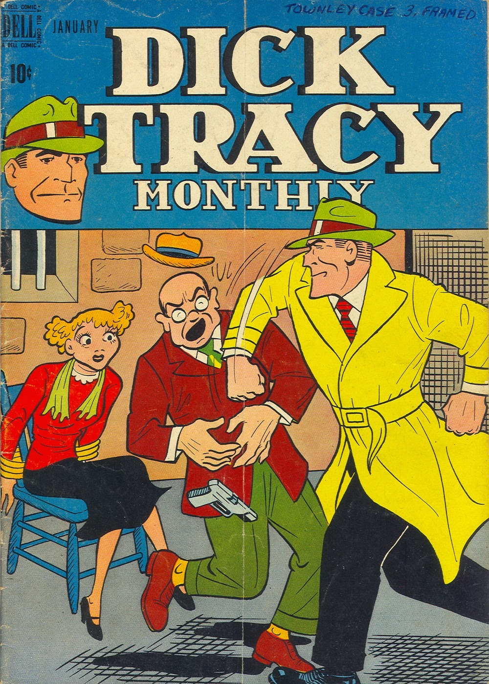 Dick Tracy Monthly 13 Page 1