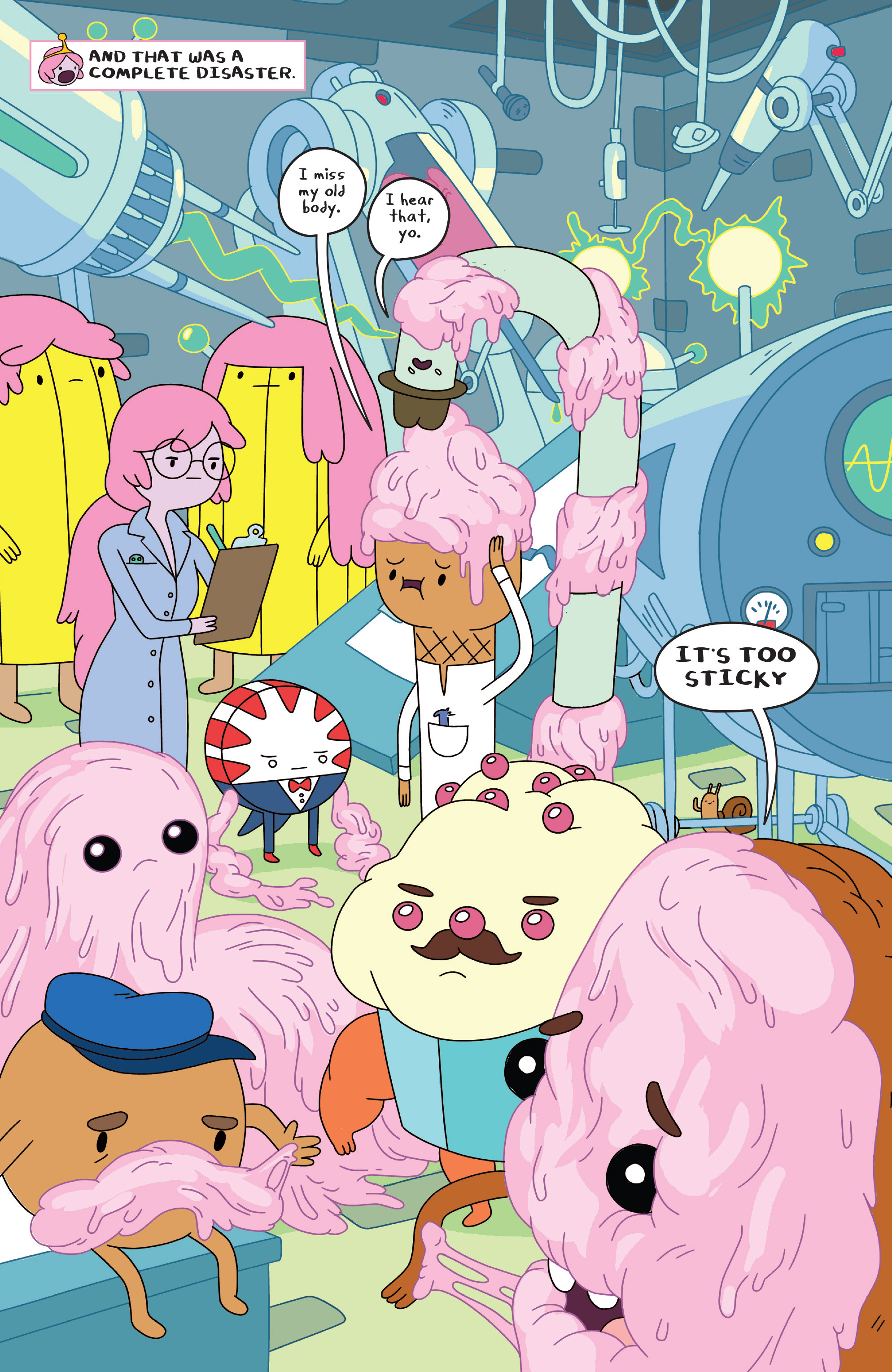 Read online Adventure Time comic -  Issue #23 - 11