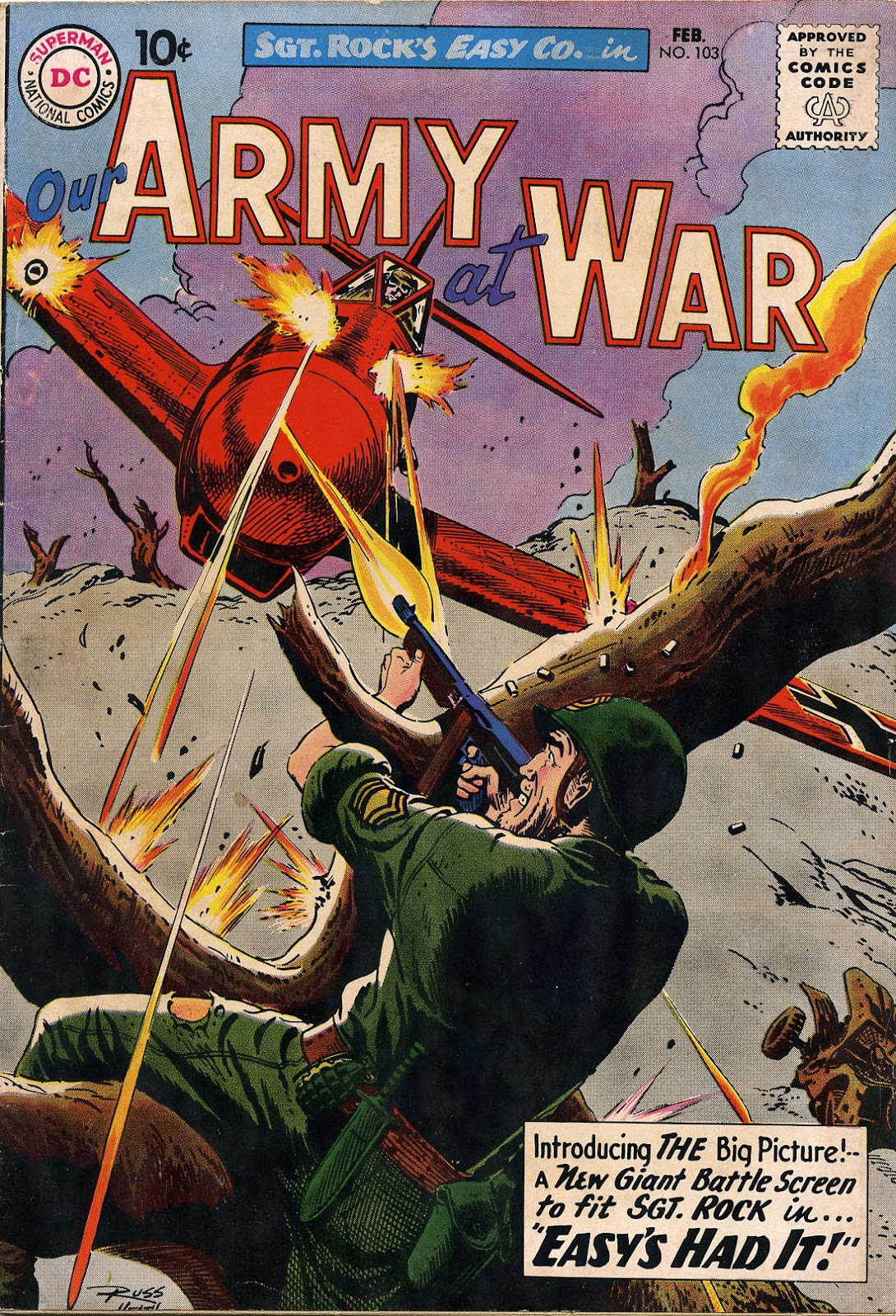 Our Army at War (1952) issue 103 - Page 1