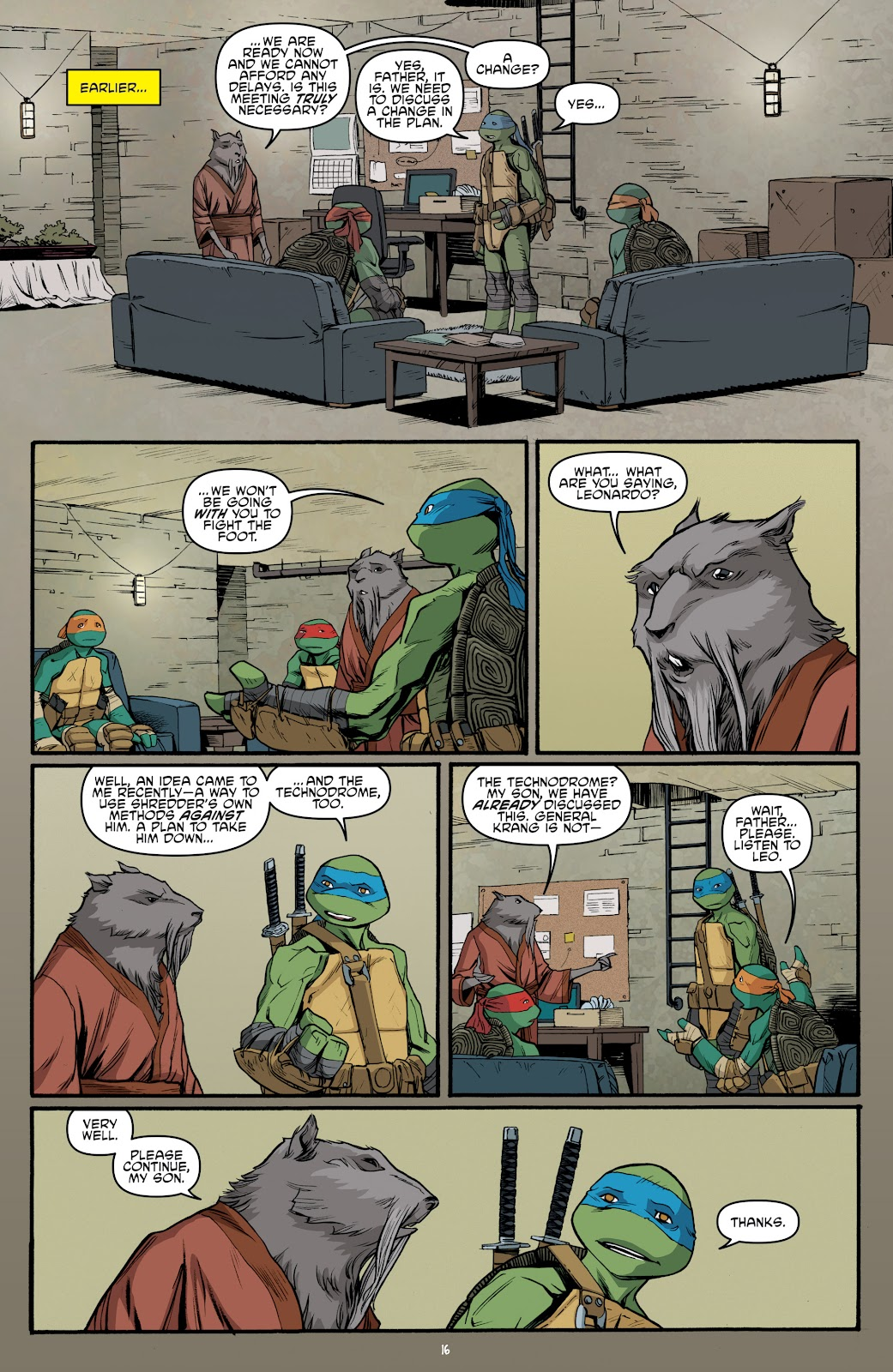 Read online Teenage Mutant Ninja Turtles: The IDW Collection comic -  Issue # TPB 5 (Part 4) - 2