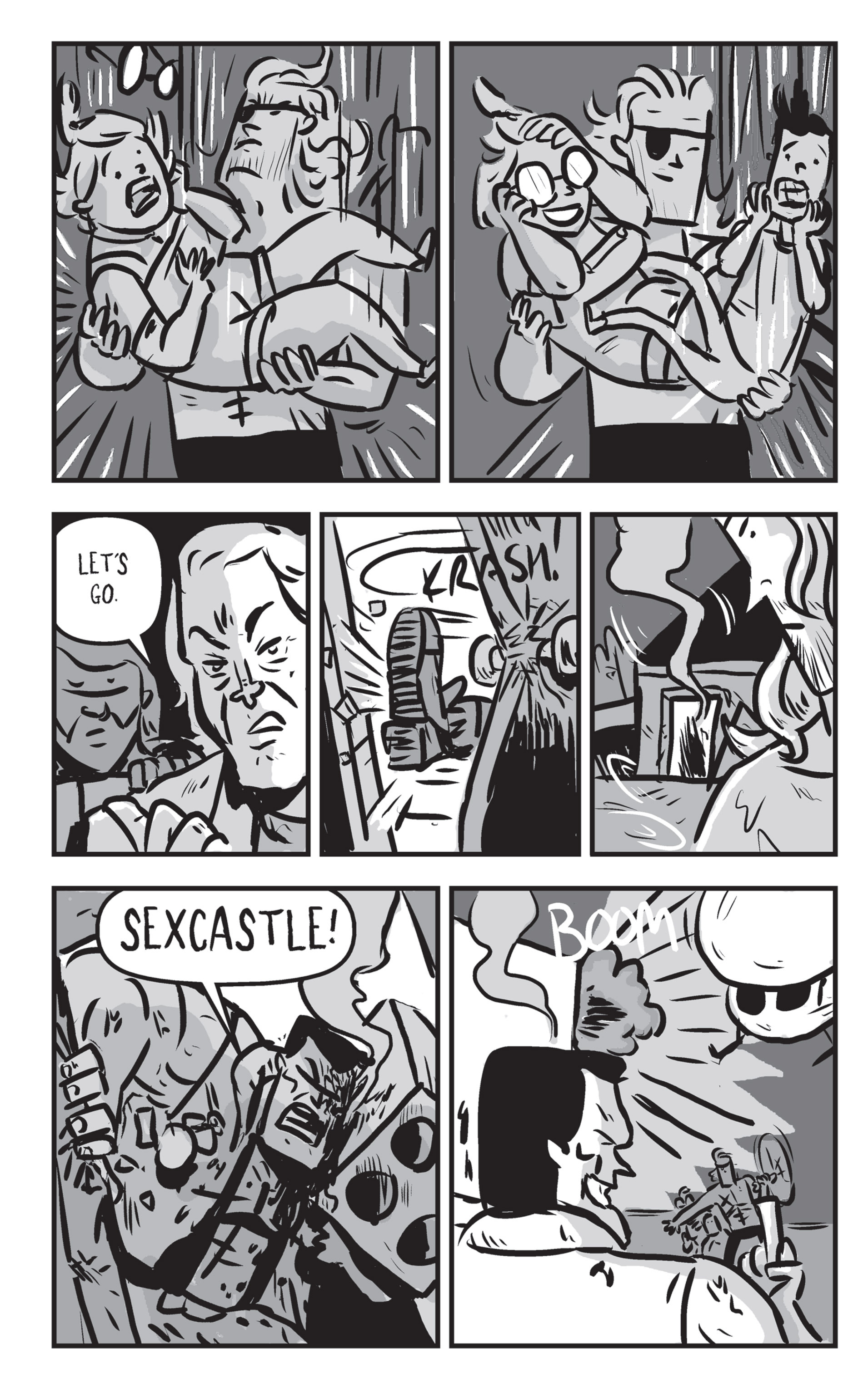 Read online Sexcastle comic -  Issue # Full - 181