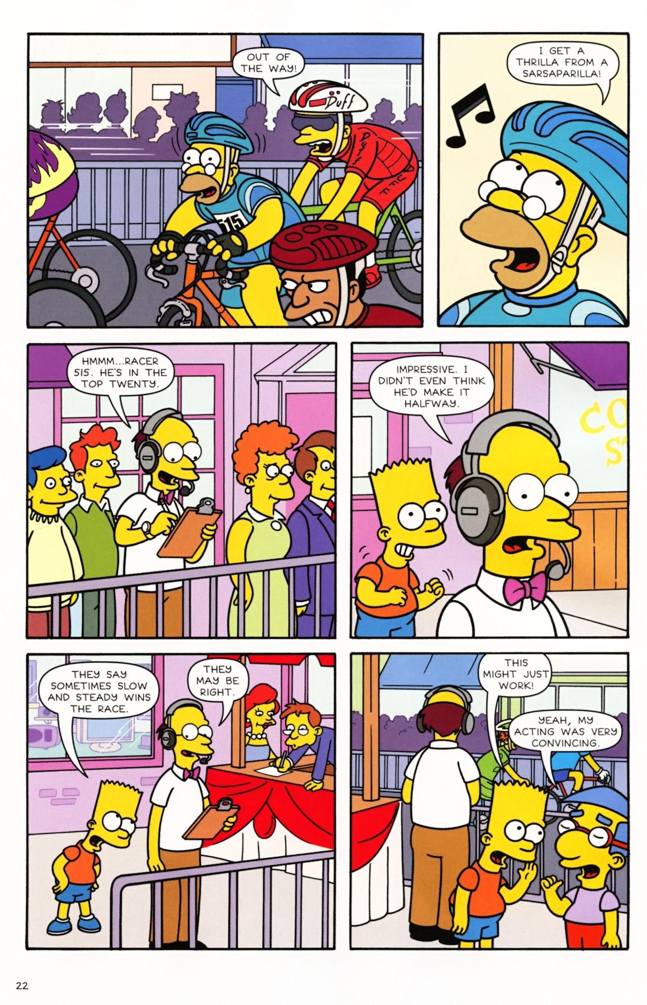 Read online Simpsons Comics comic -  Issue #166 - 18