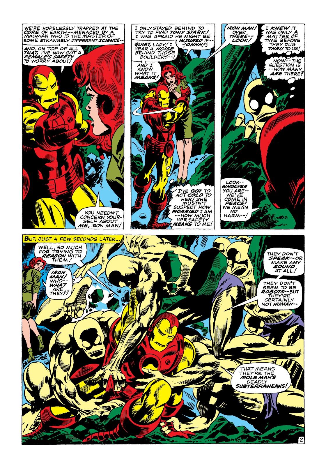 Read online Marvel Masterworks: The Invincible Iron Man comic -  Issue # TPB 4 (Part 1) - 60