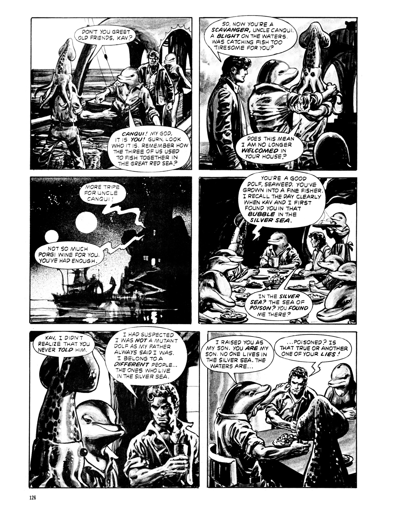Read online Eerie Archives comic -  Issue # TPB 20 - 126