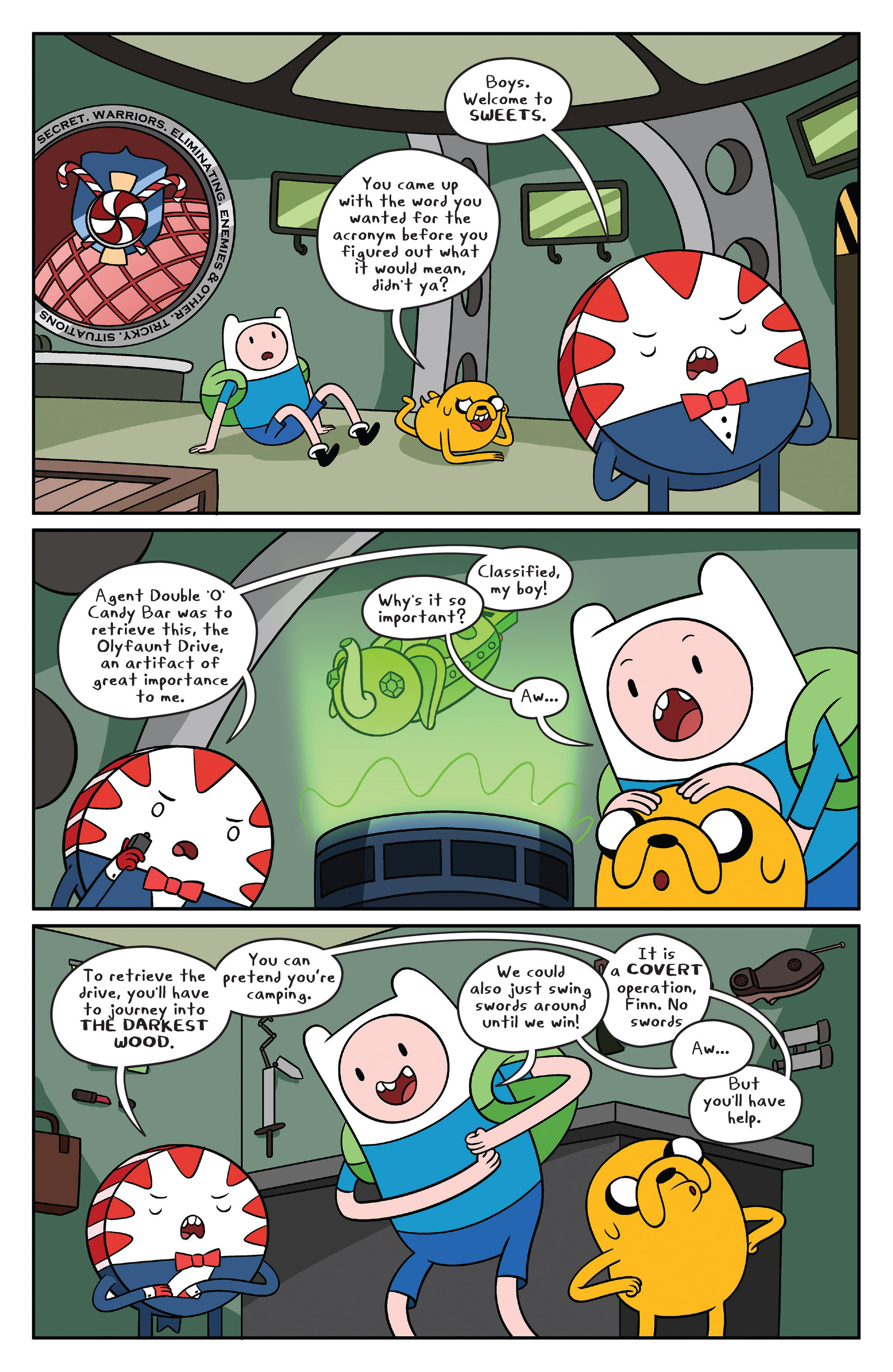 Read online Adventure Time comic -  Issue #41 - 12